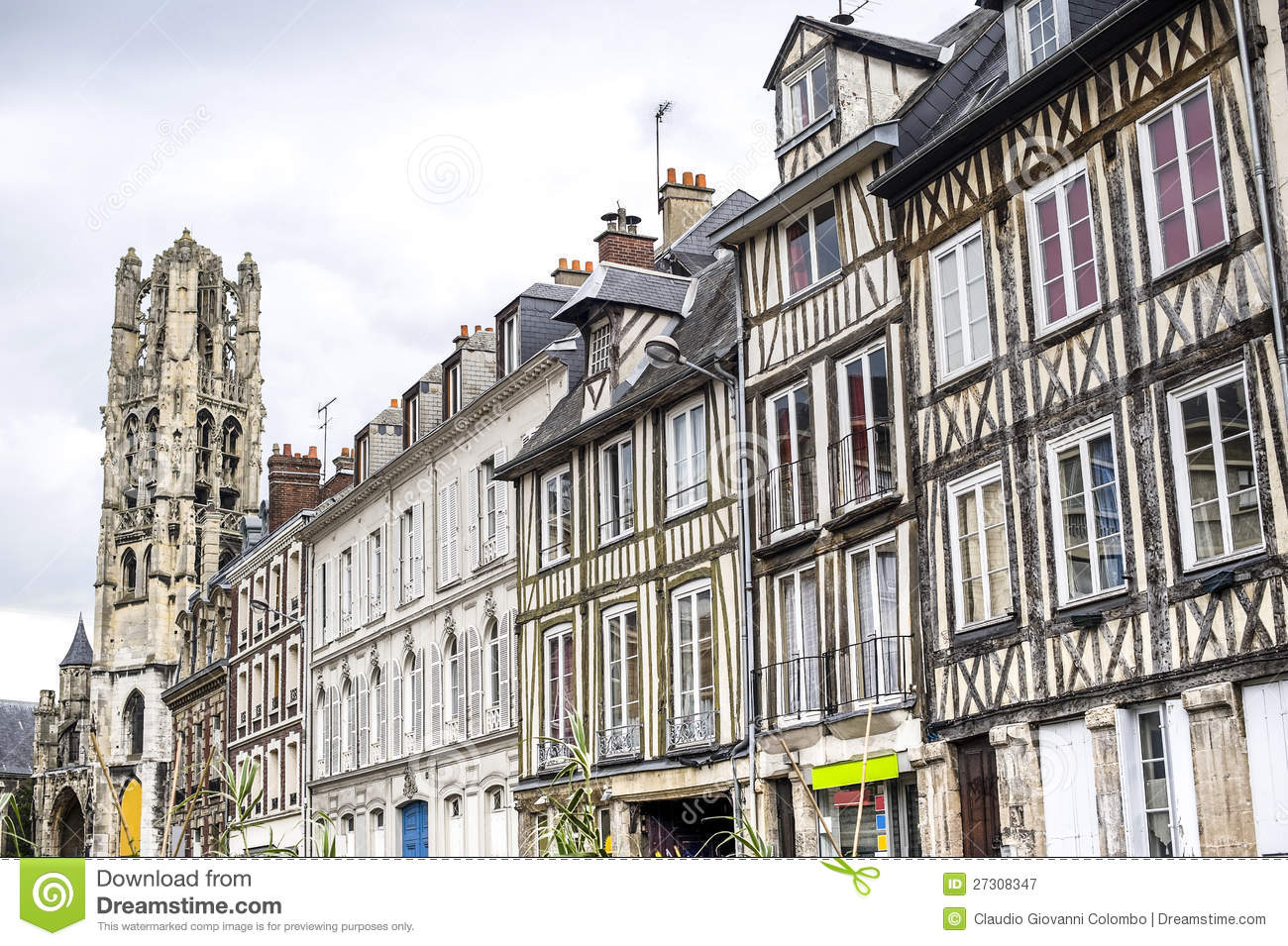 Rouen royalty free stock photography image 27308347 for Haute normandie rouen