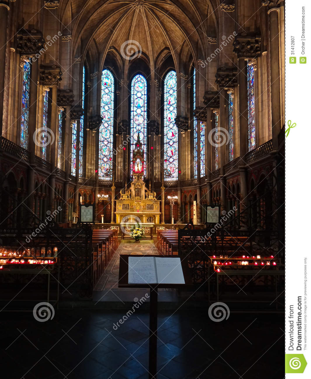 rouen cathedral royalty free stock photography image 31412807. Black Bedroom Furniture Sets. Home Design Ideas
