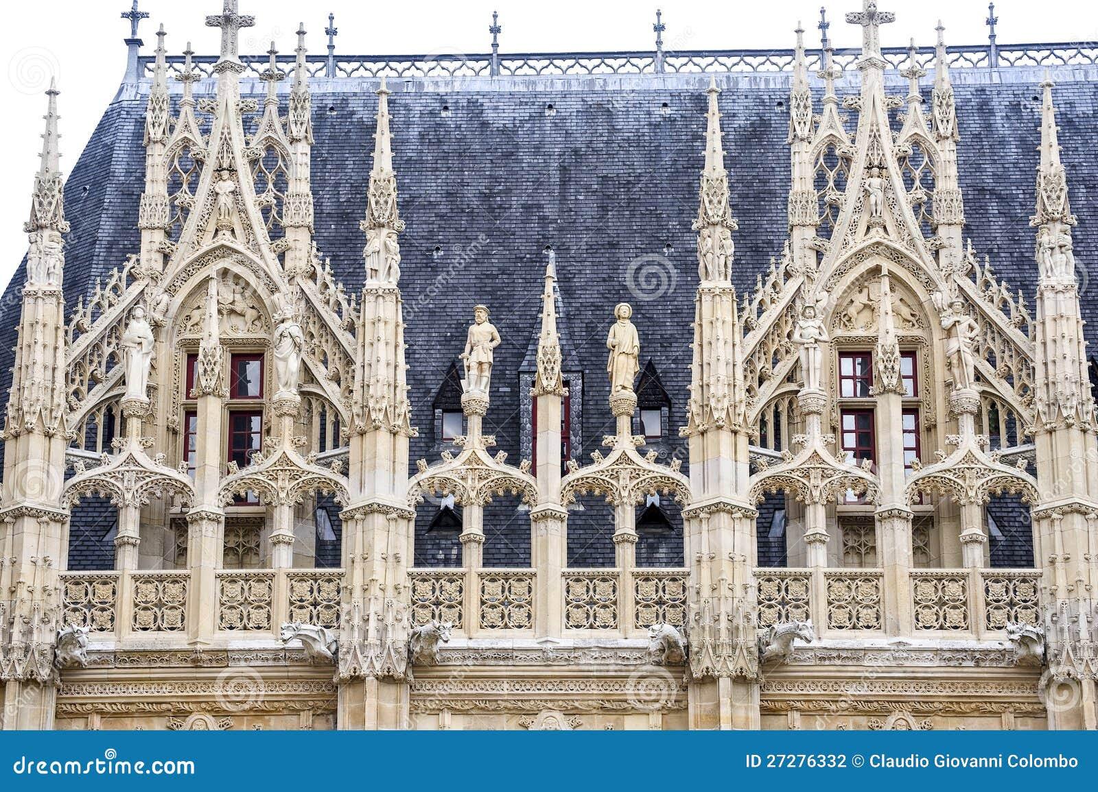 Rouen - historisk slott