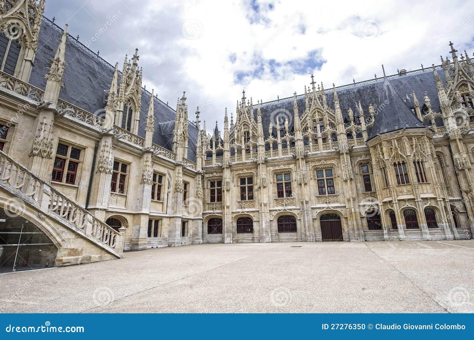 Rouen - palais historique