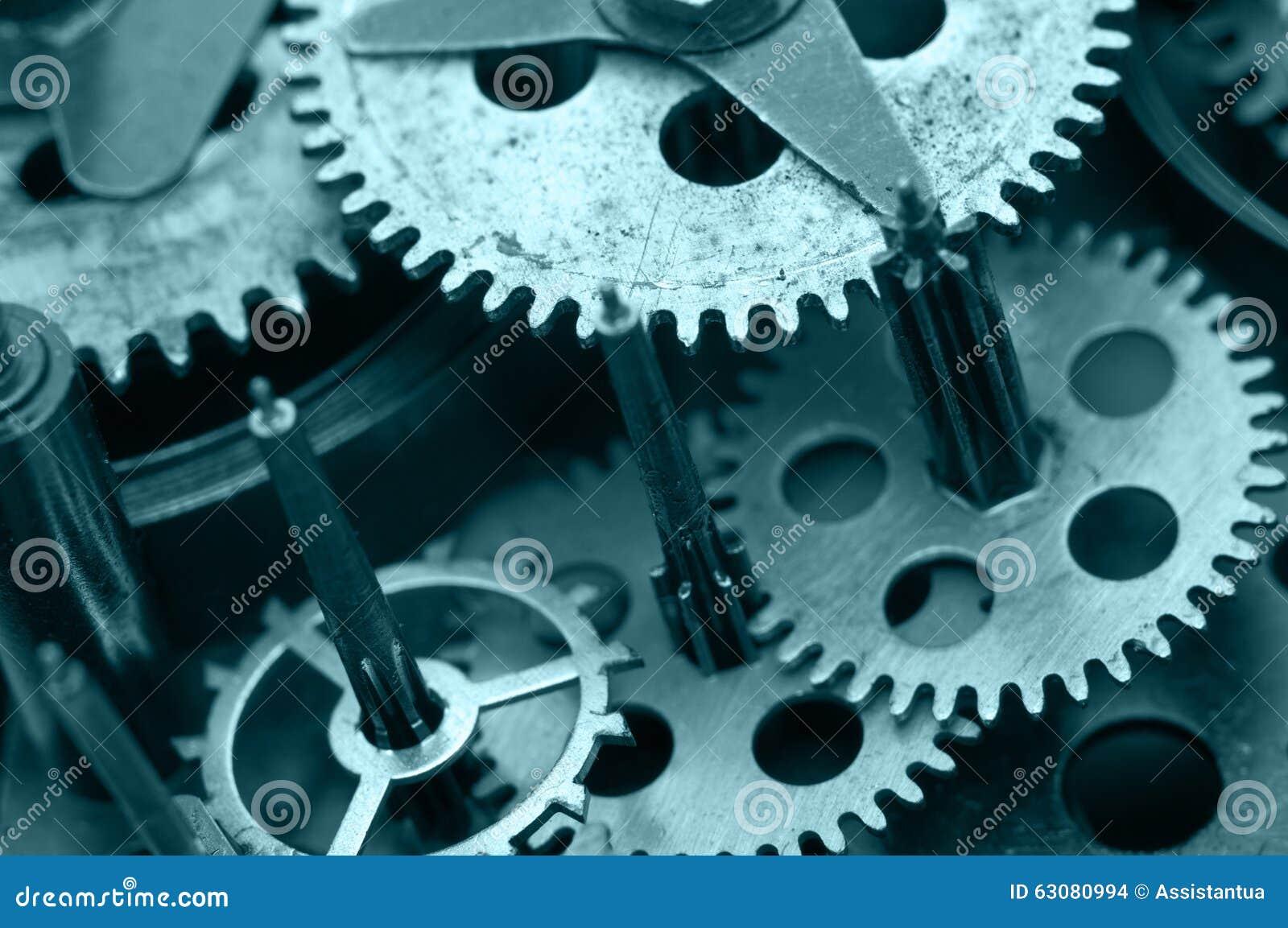 Download Roues Dentées à L'intérieur De Mécanisme D'horloge Macro Photo stock - Image du fond, exactitude: 63080994