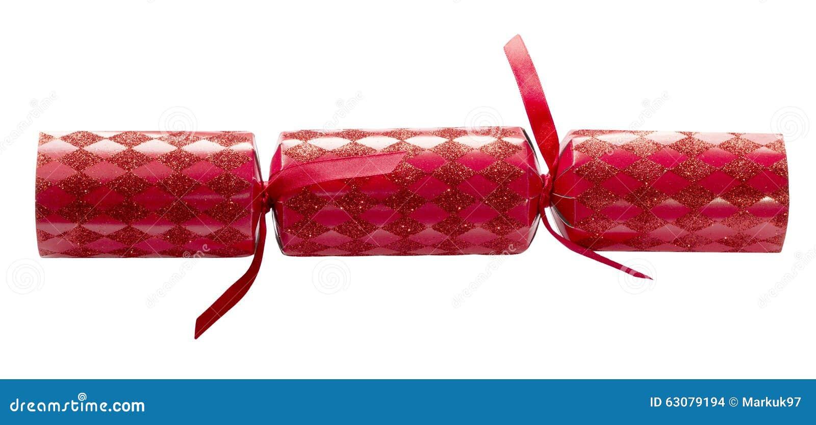 Download Rouge De Biscuit De Noël D'isolement Photo stock - Image du saisonnier, décoration: 63079194