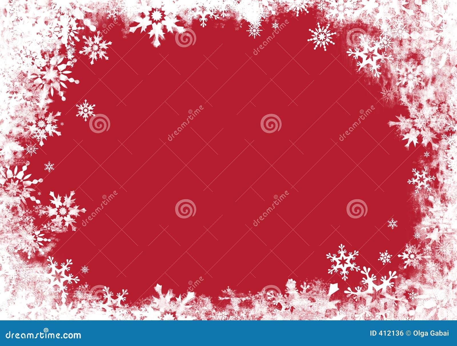 Rouge de carte de cadre
