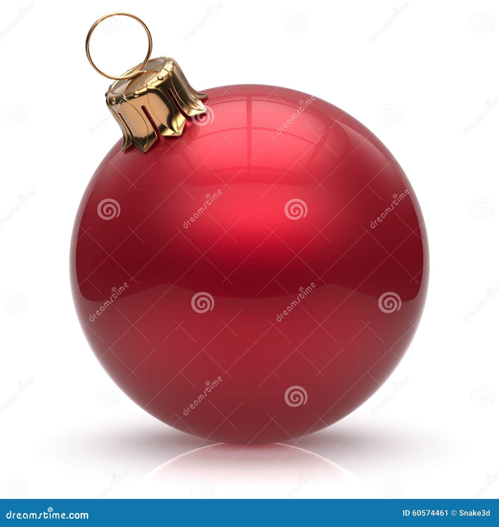 Rouge de décoration d hiver de babiole de boule d Eve Christmas de nouvelle année