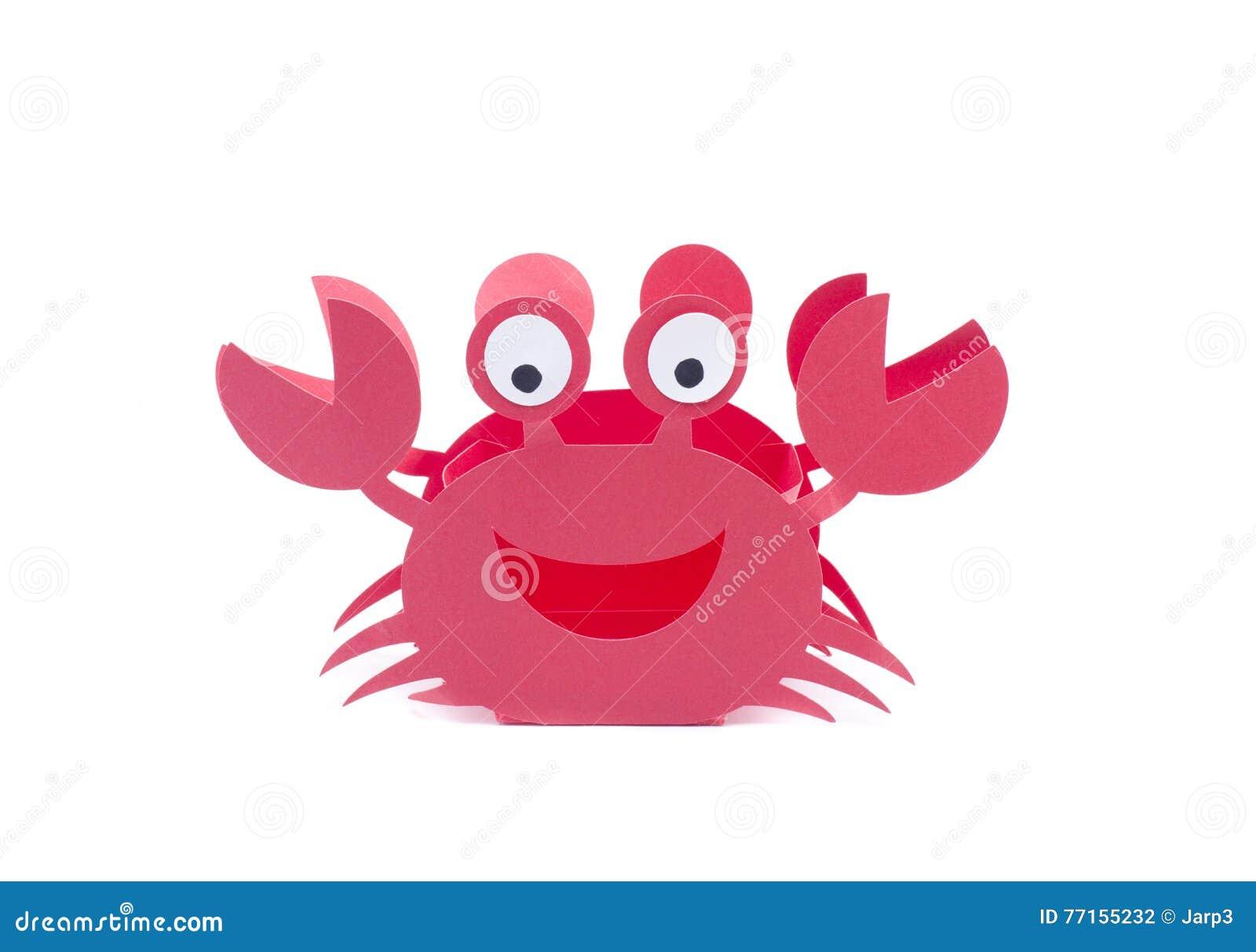Rouge de métier de crabe