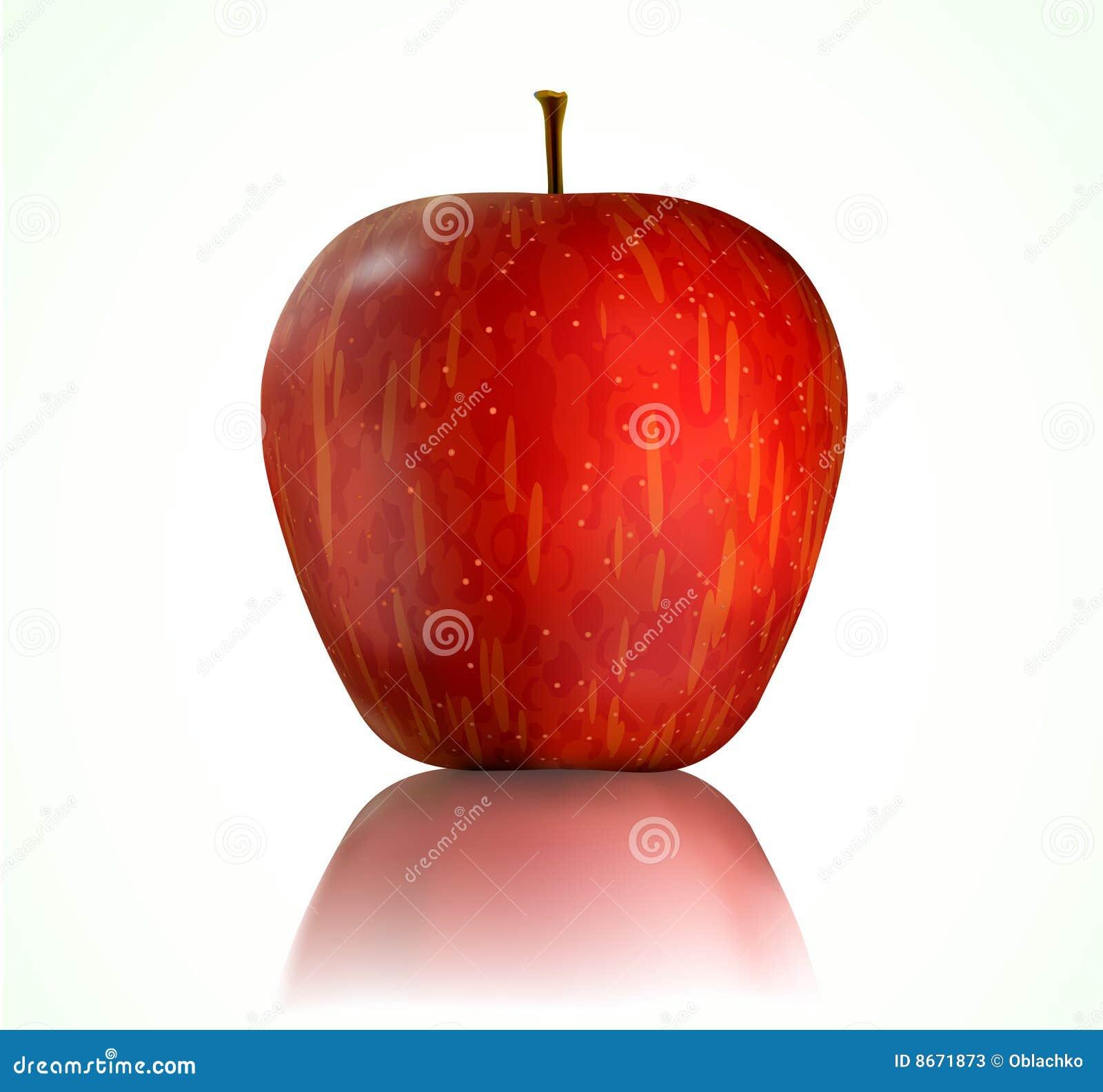 Rouge de pomme