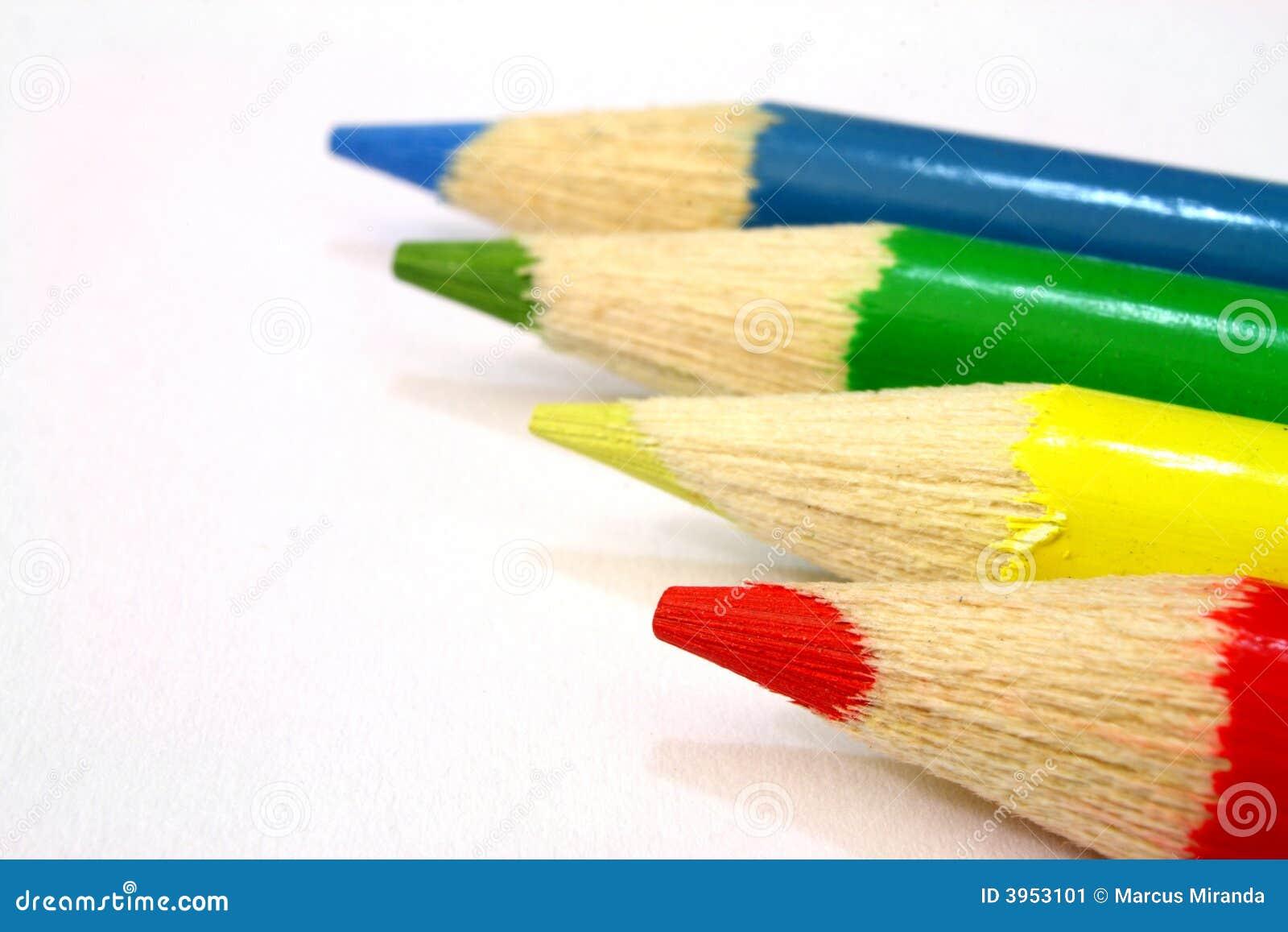 rouge vert jaune et bleu image stock image 3953101. Black Bedroom Furniture Sets. Home Design Ideas