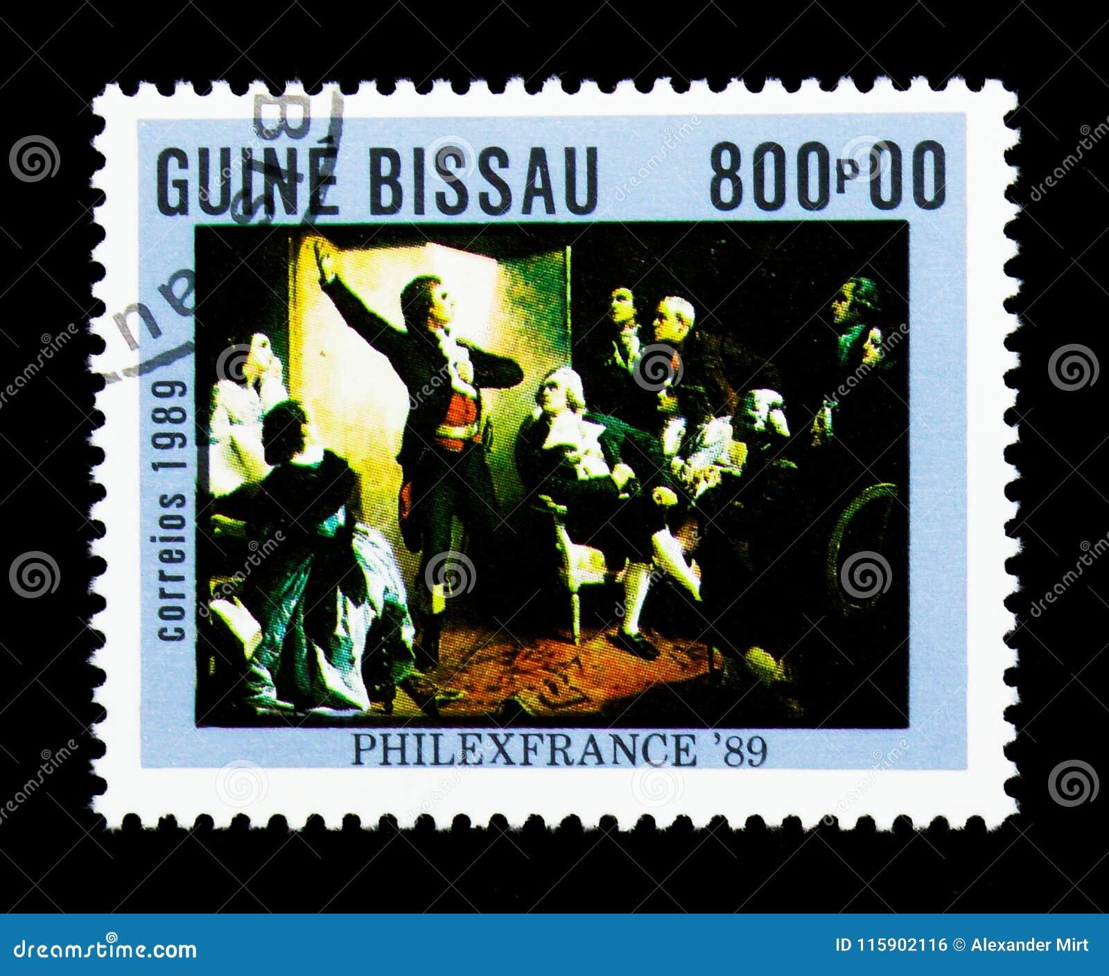Rouget de Lisle chantant le Marseillaise, Isidore Pils, timbre