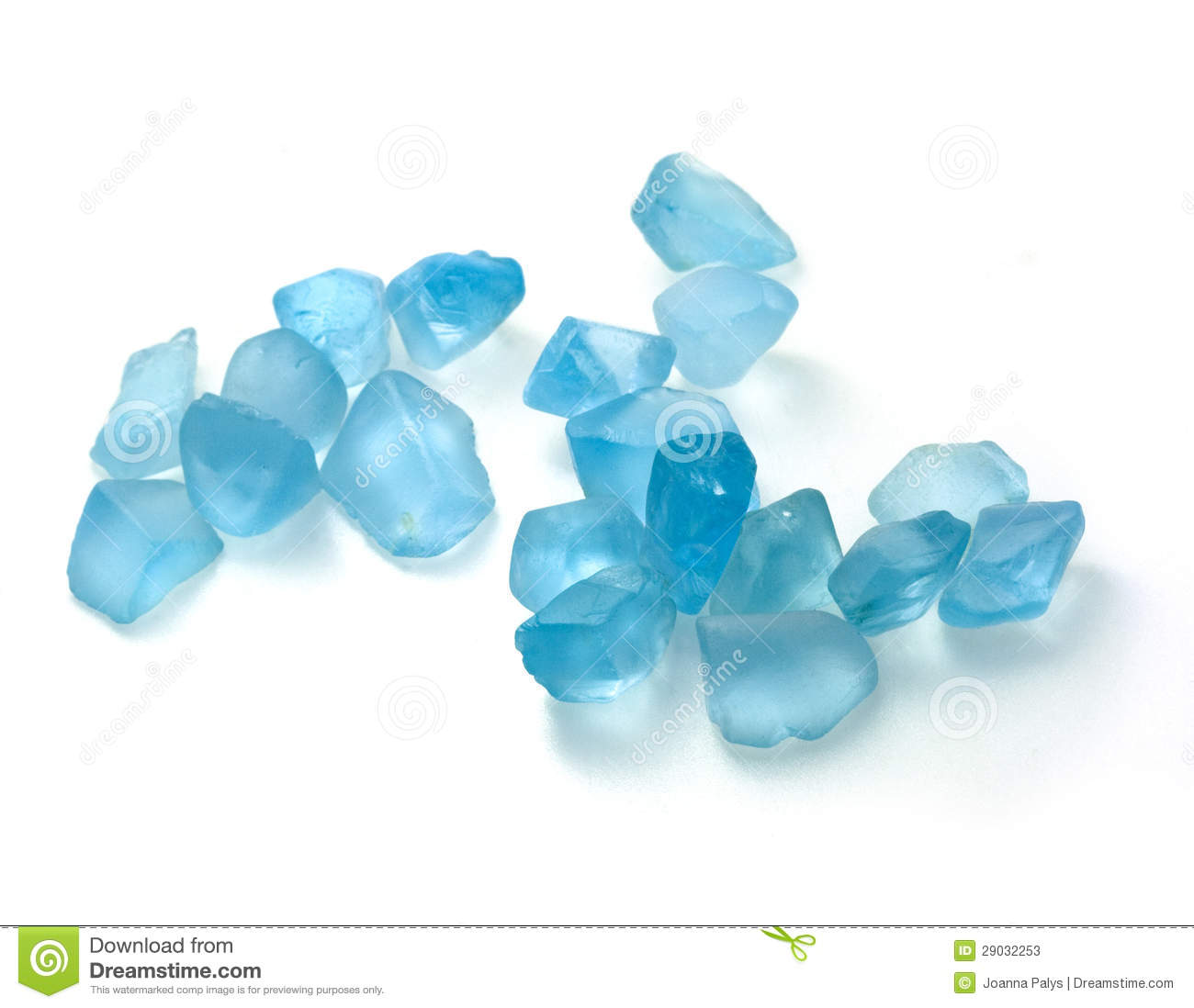 Rough Blue Topaz Stones Stock Photos Image 29032253