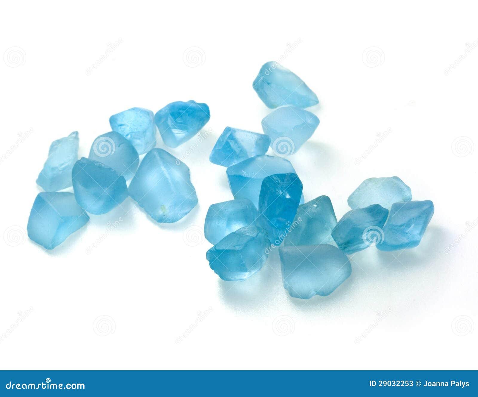 Rough Blue Topaz Stones Stock Photos Image 29032253