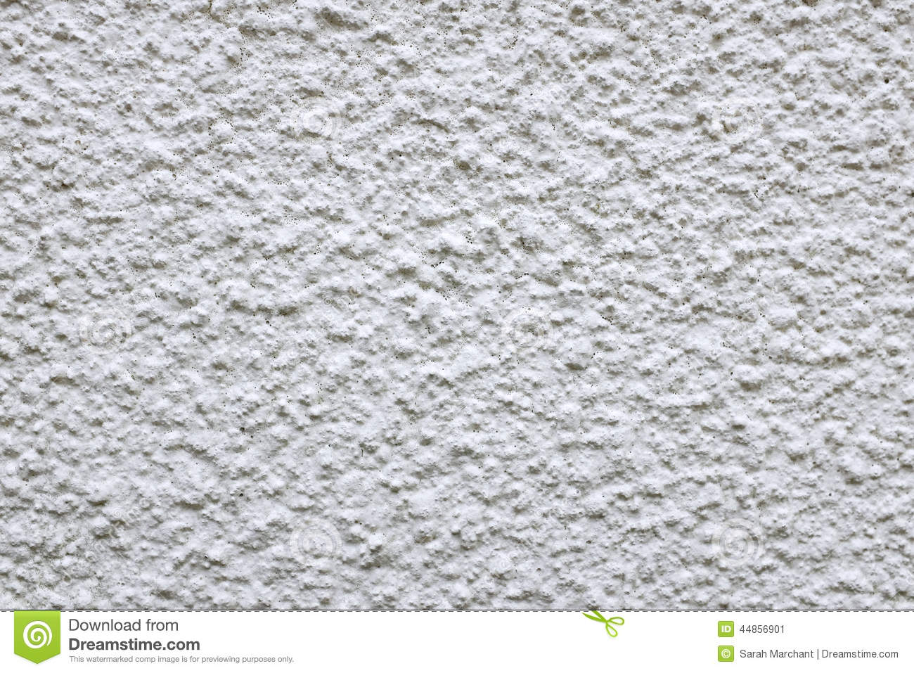 Rough cement render painted white stock image image 44856901 - How to paint rendered exterior walls decoration ...