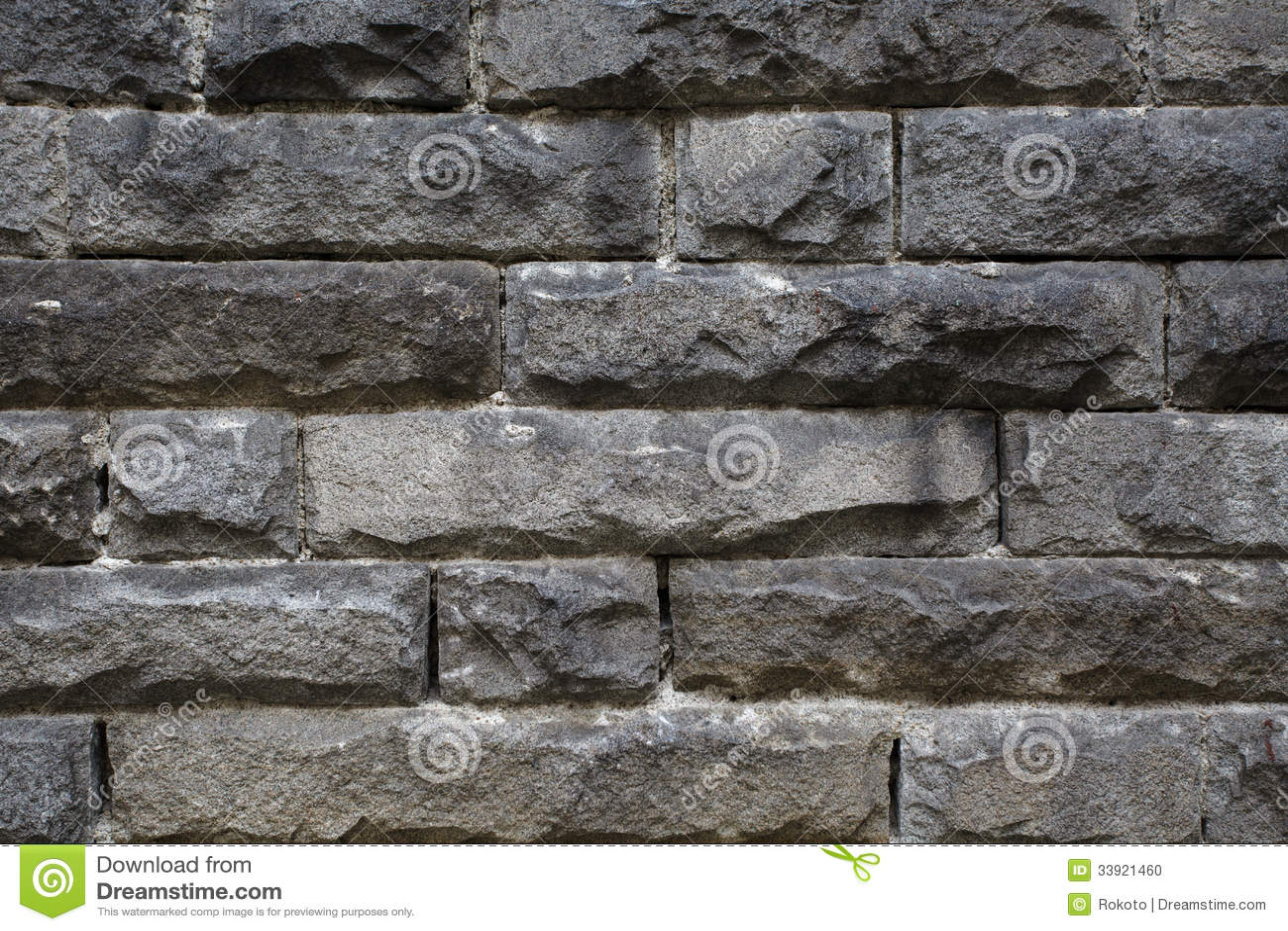 Rough Granite Stone : Rough granite stone wall stock photo image