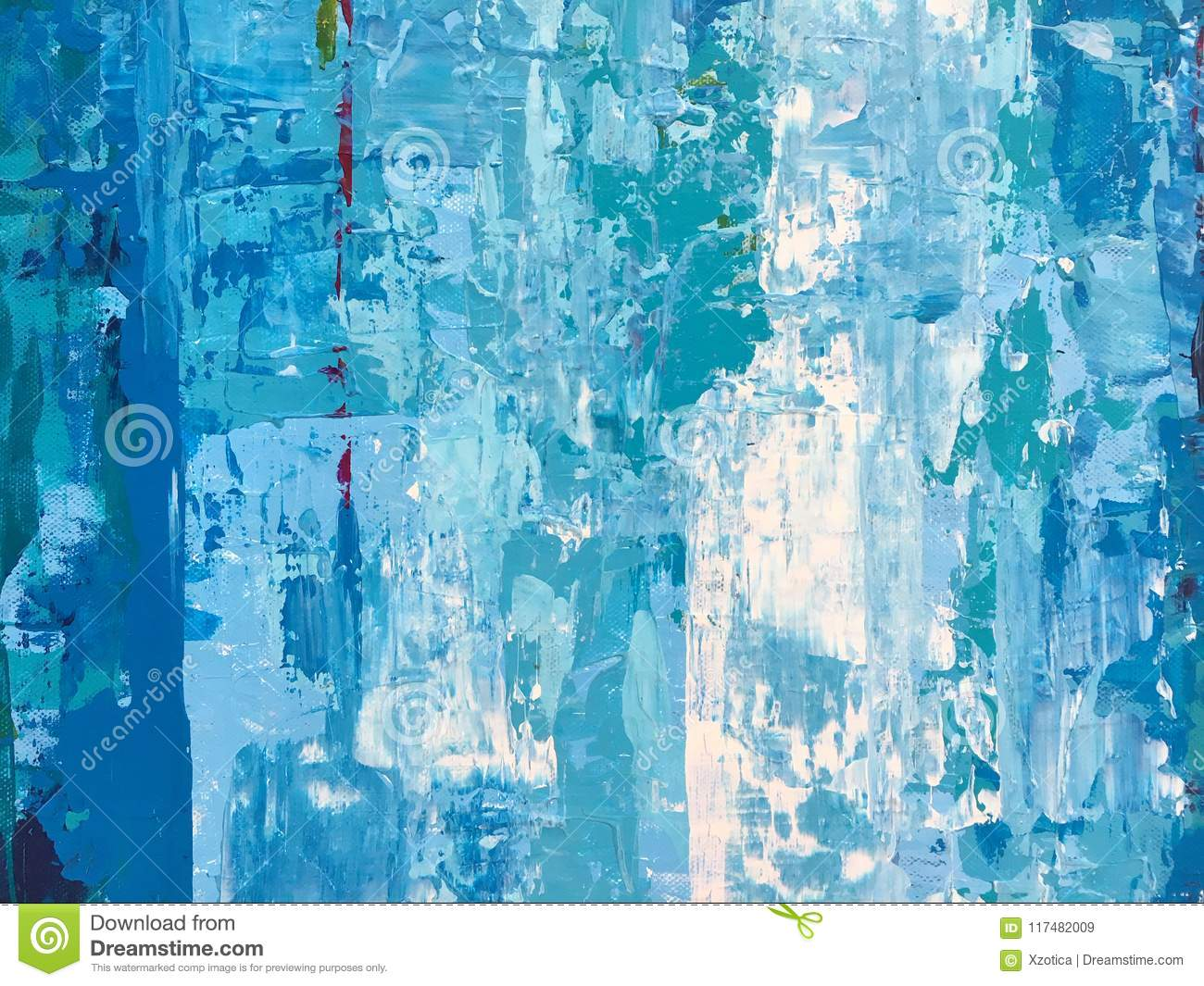 The Rough And Grunge Blue And White Abstract Wallpaper