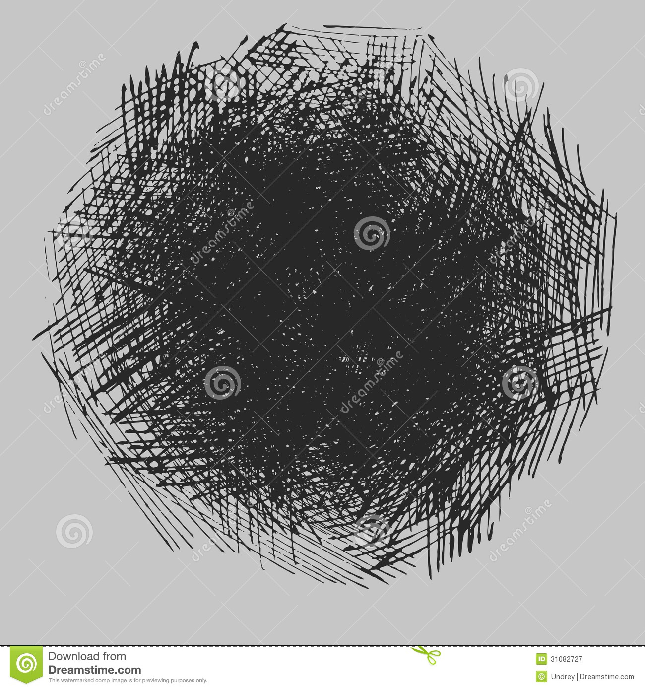 rough hatching drawing texture stock illustration