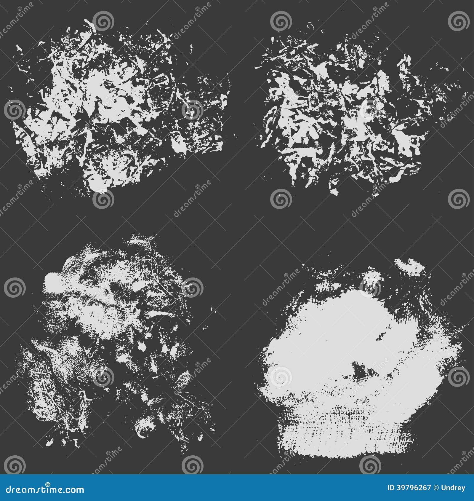 Rough Texture Background: Rough Grungy Background. Dark Textured Surface. Vector