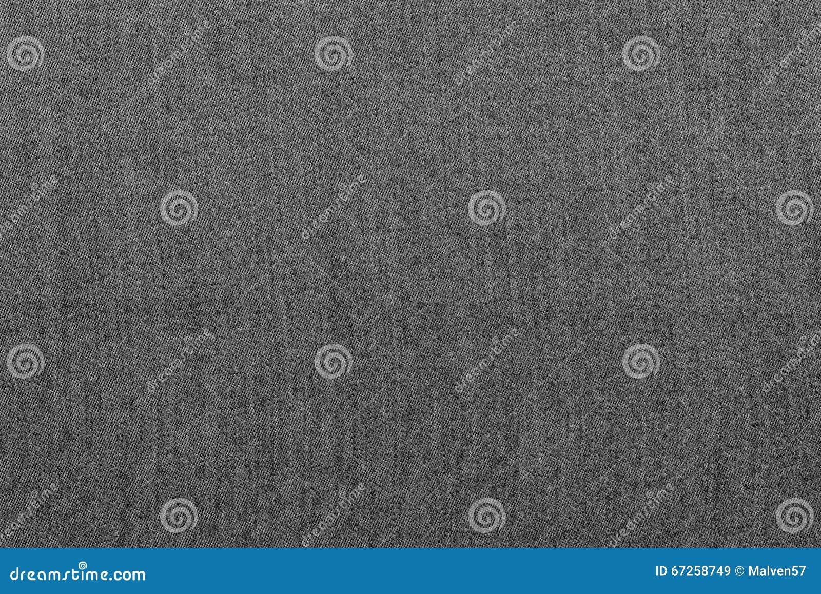 Rough Texture Denim Fabric Monochrome Background Of Gray Color Stock