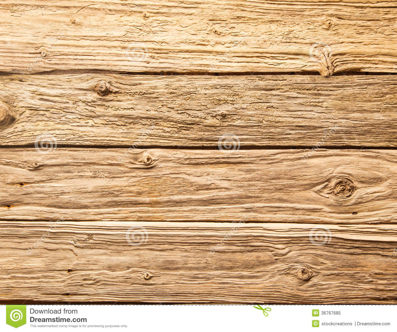 Rough Wood Planks ~ Rough textured wooden planks stock image