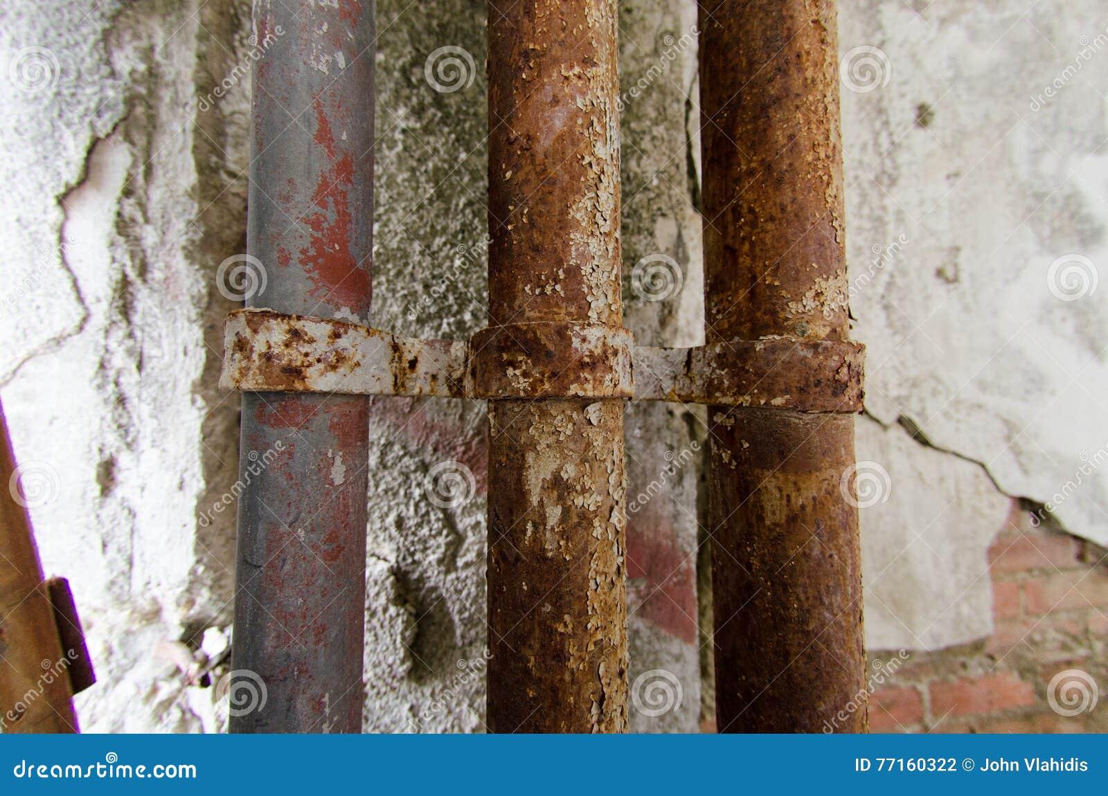 Rouille dans des tuyaux