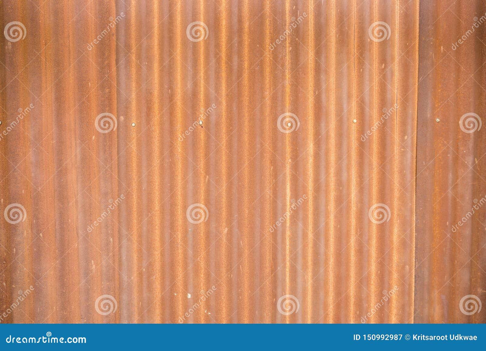 Rouille sur le feuillard Papier peint en m?tal de rouille