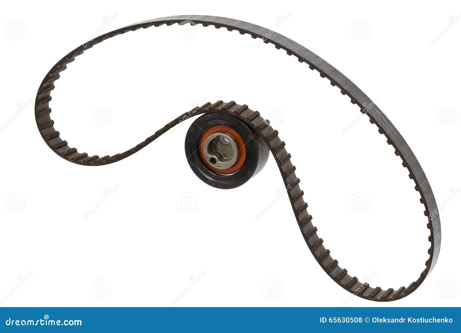 Rouleau de ceinture et de tendeur, d isolement sur le fond blanc