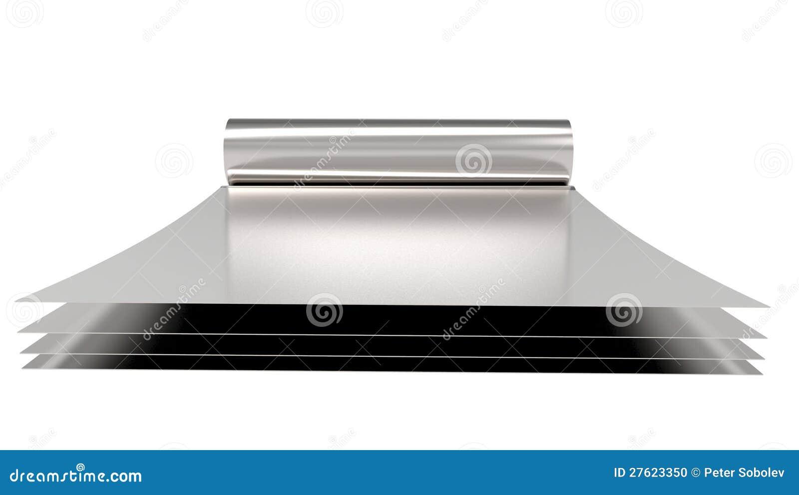 feuille metallique