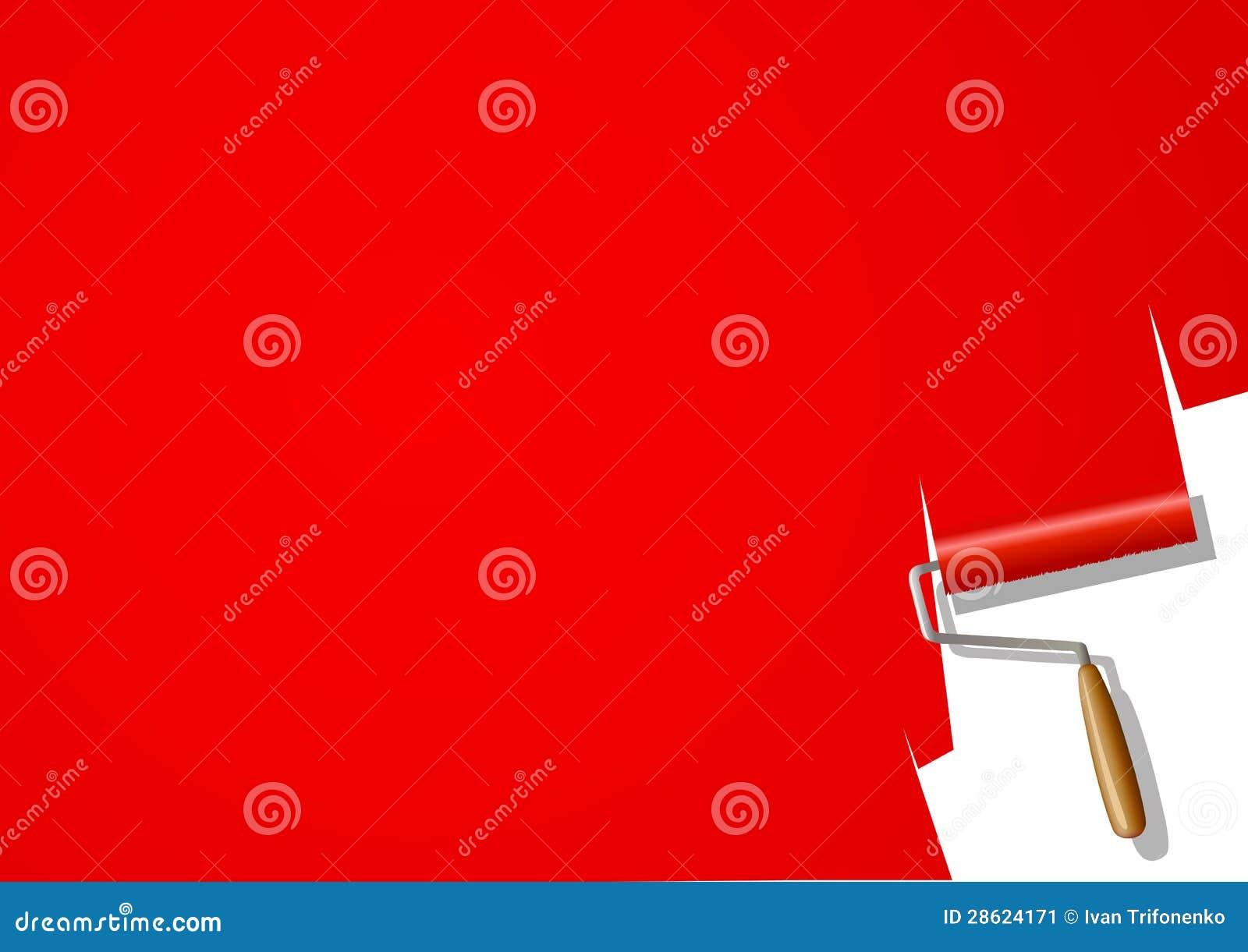 rouleau de peinture image stock image 28624171. Black Bedroom Furniture Sets. Home Design Ideas