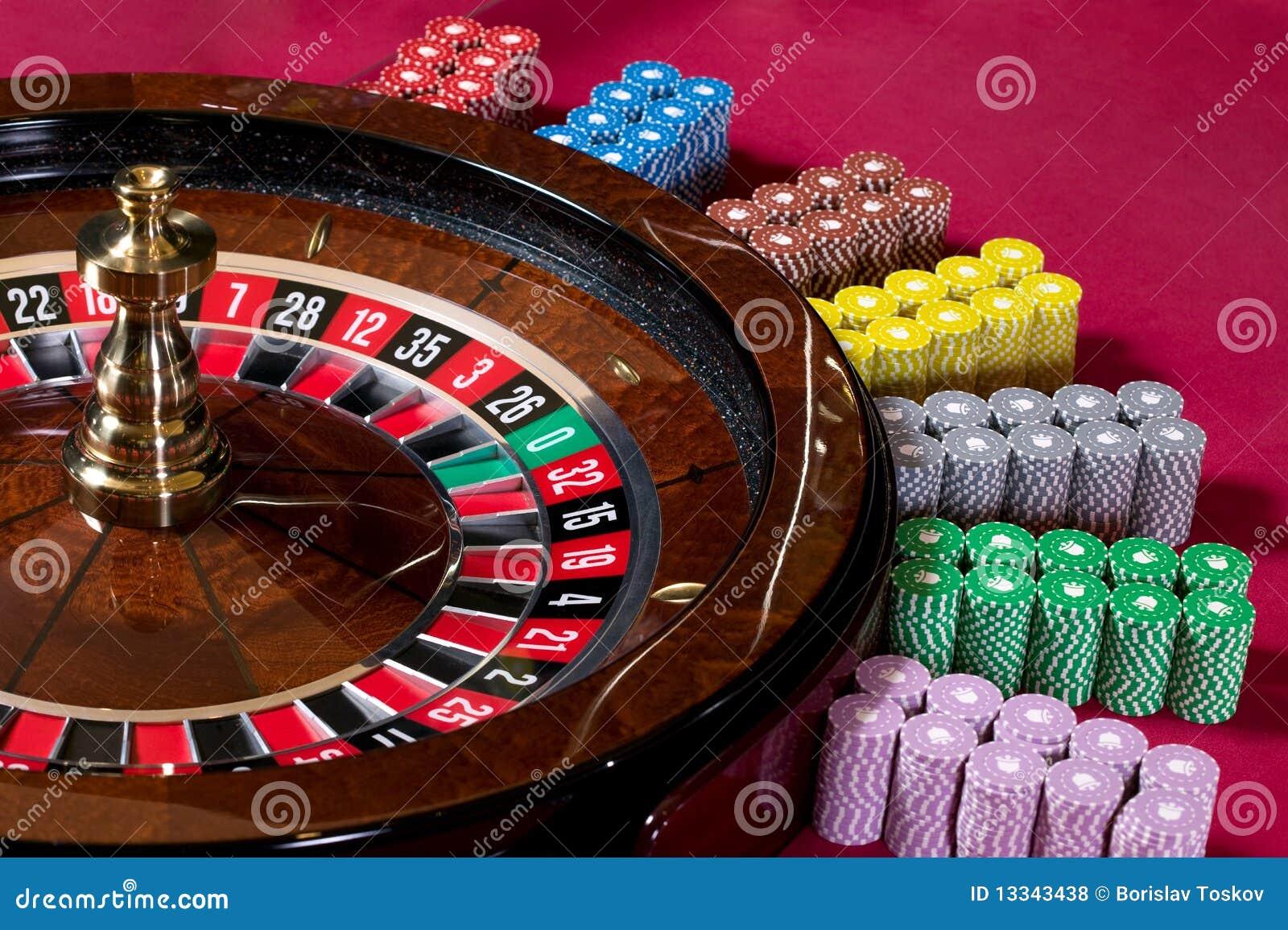 Roulette Chips Set