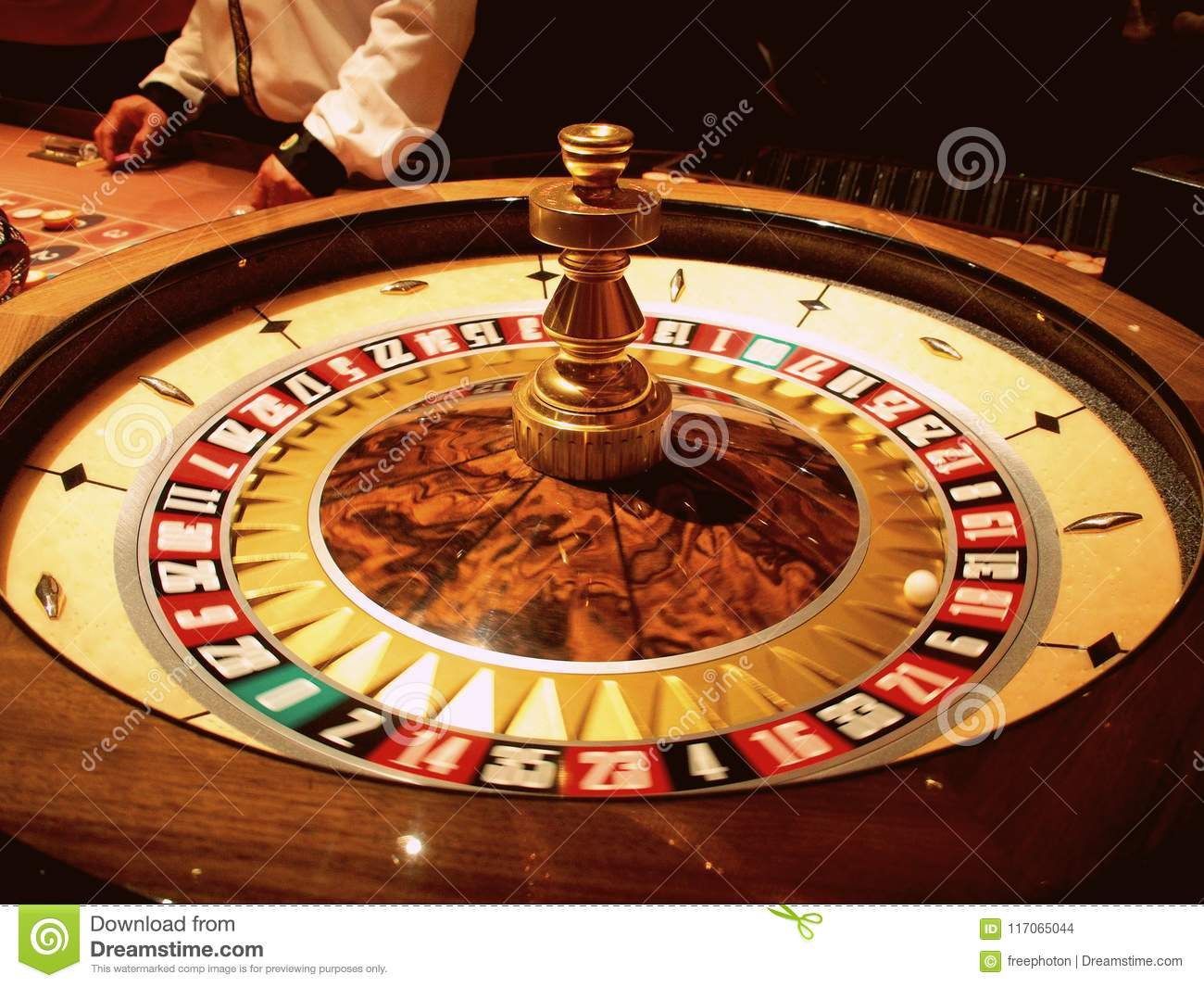 Roulette In Las Vegas Casino Stock Photo Image Of Authentic