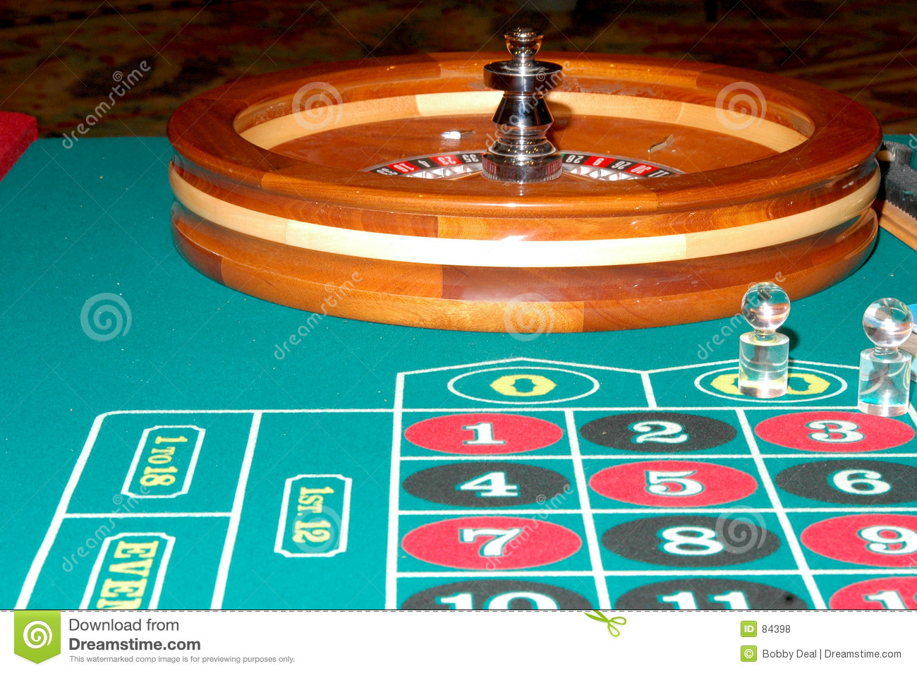 Roulette table generator