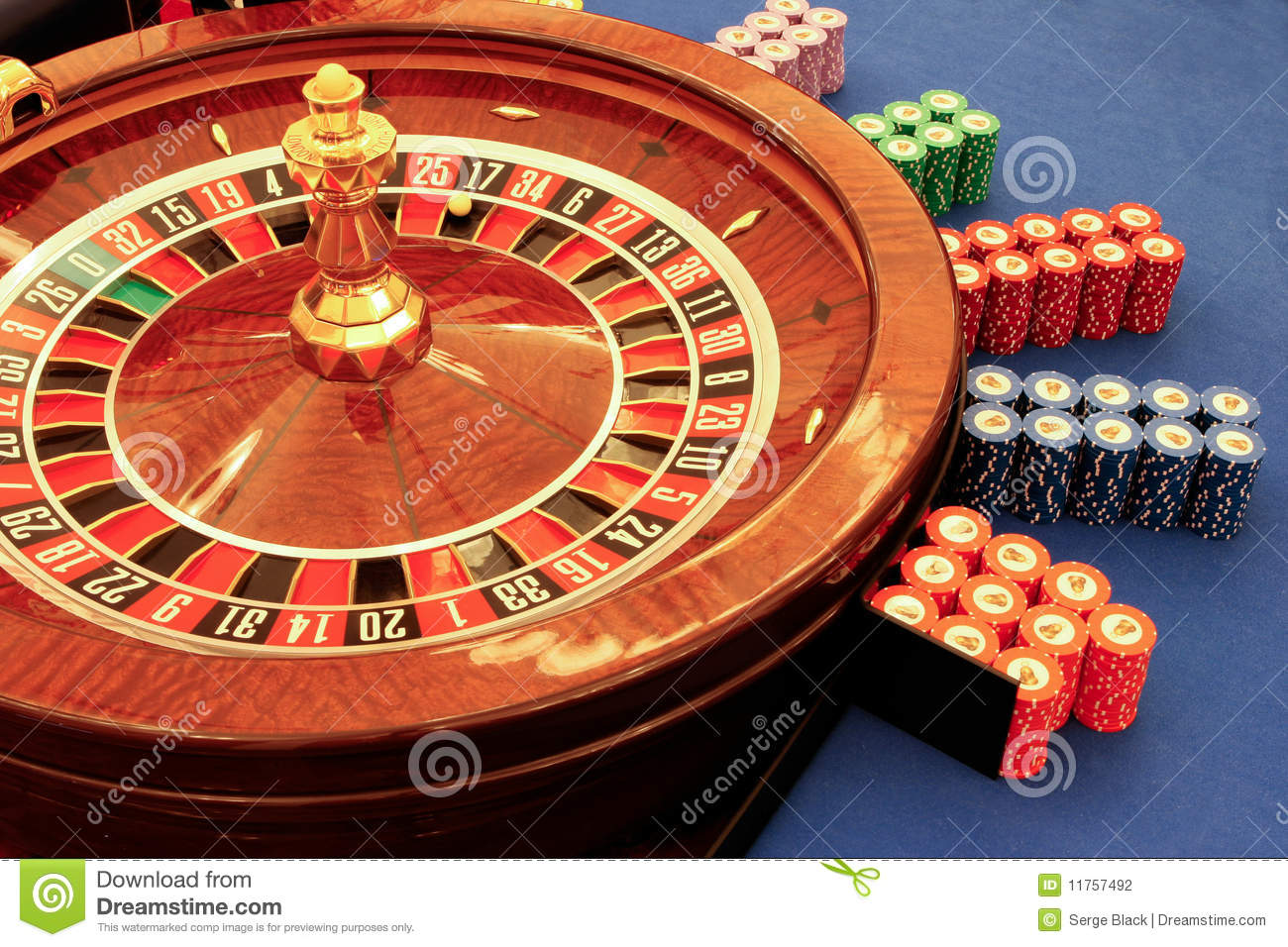 roulette table in casino close up stock photo image. Black Bedroom Furniture Sets. Home Design Ideas