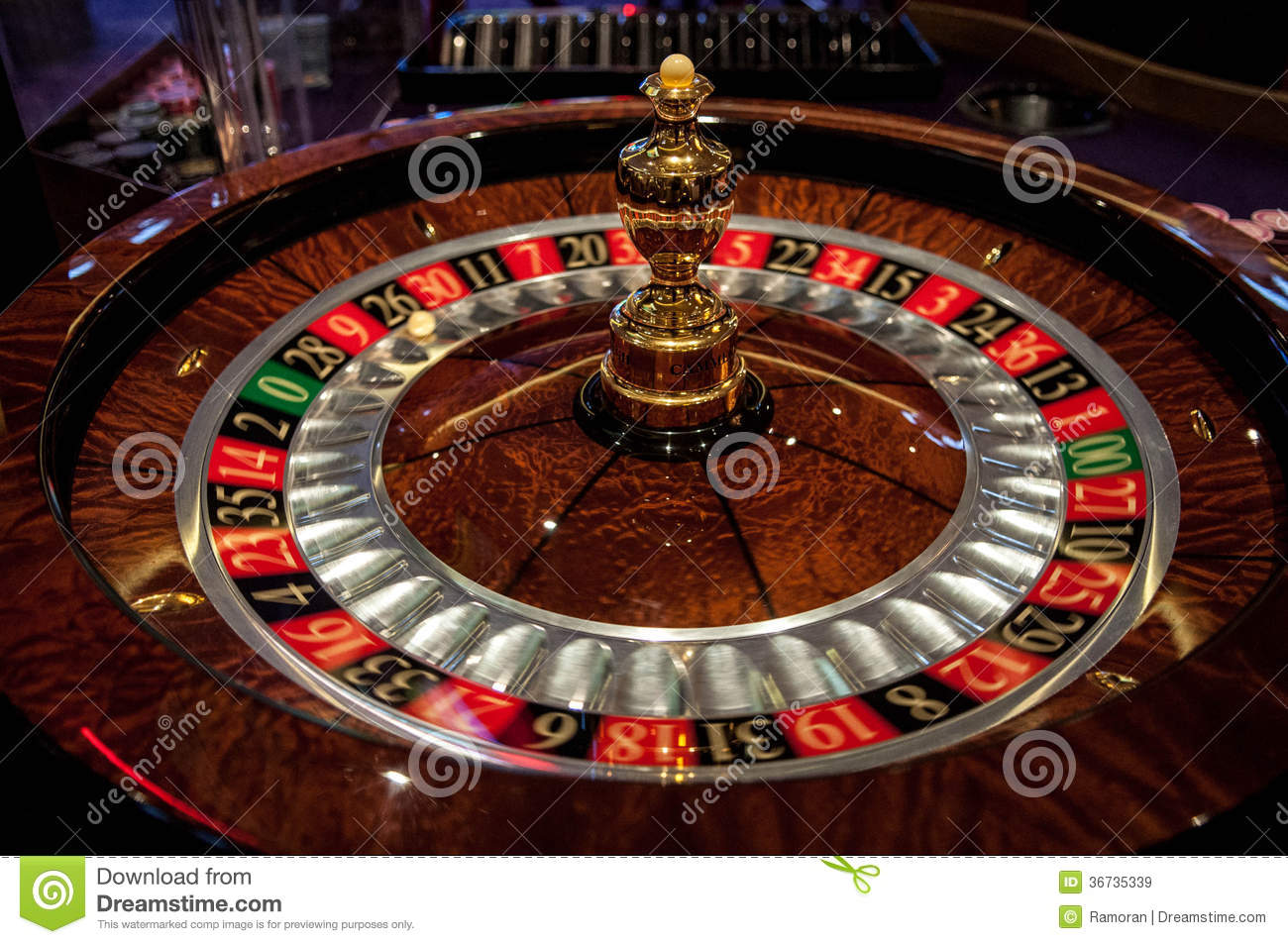Roulette table royalty free stock images image 36735339 - Table a roulette ...