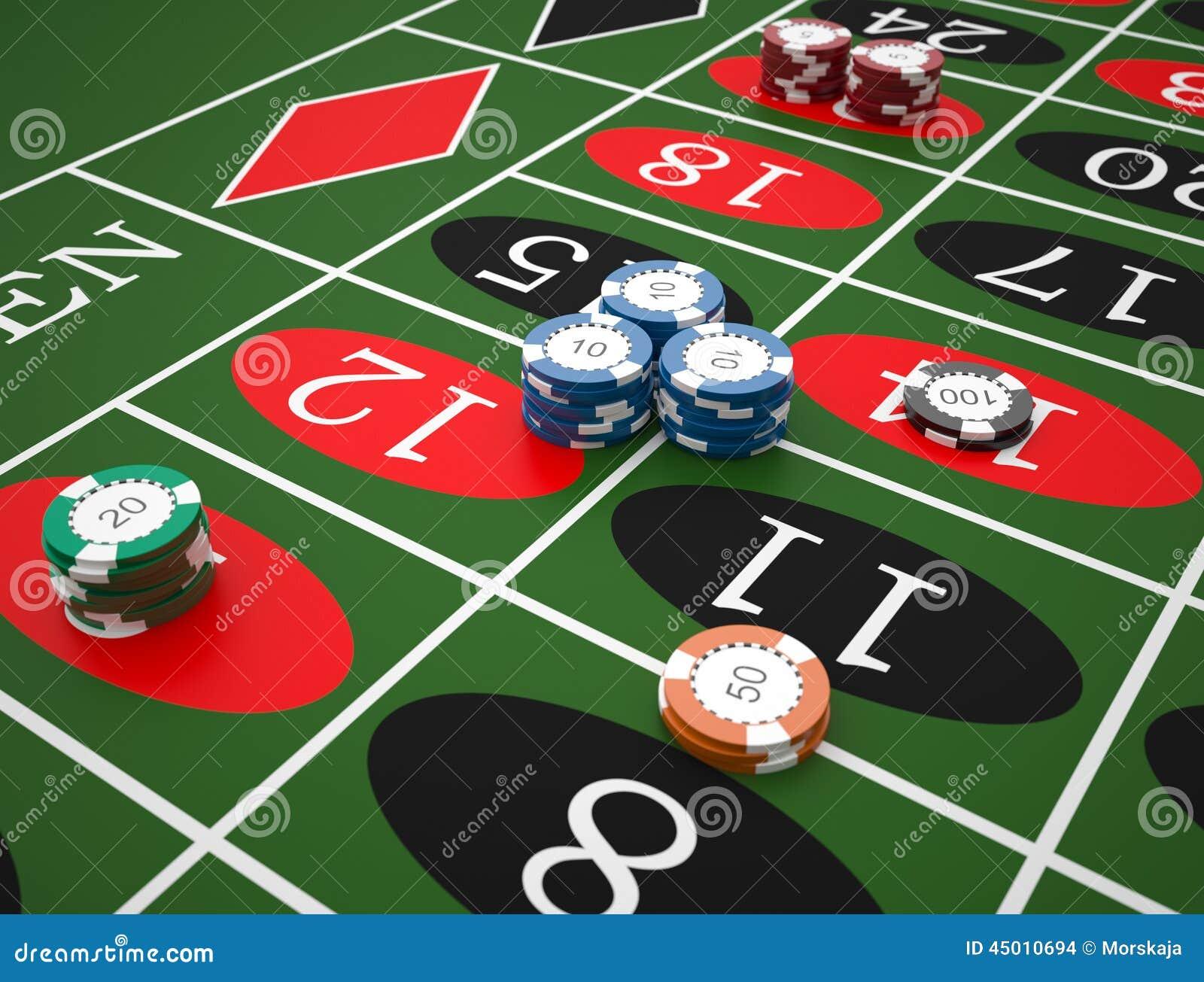roulette stock illustration image 45010694. Black Bedroom Furniture Sets. Home Design Ideas
