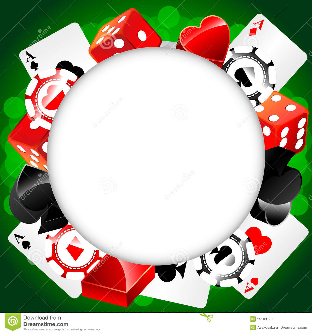 roulette vector casino background stock vector