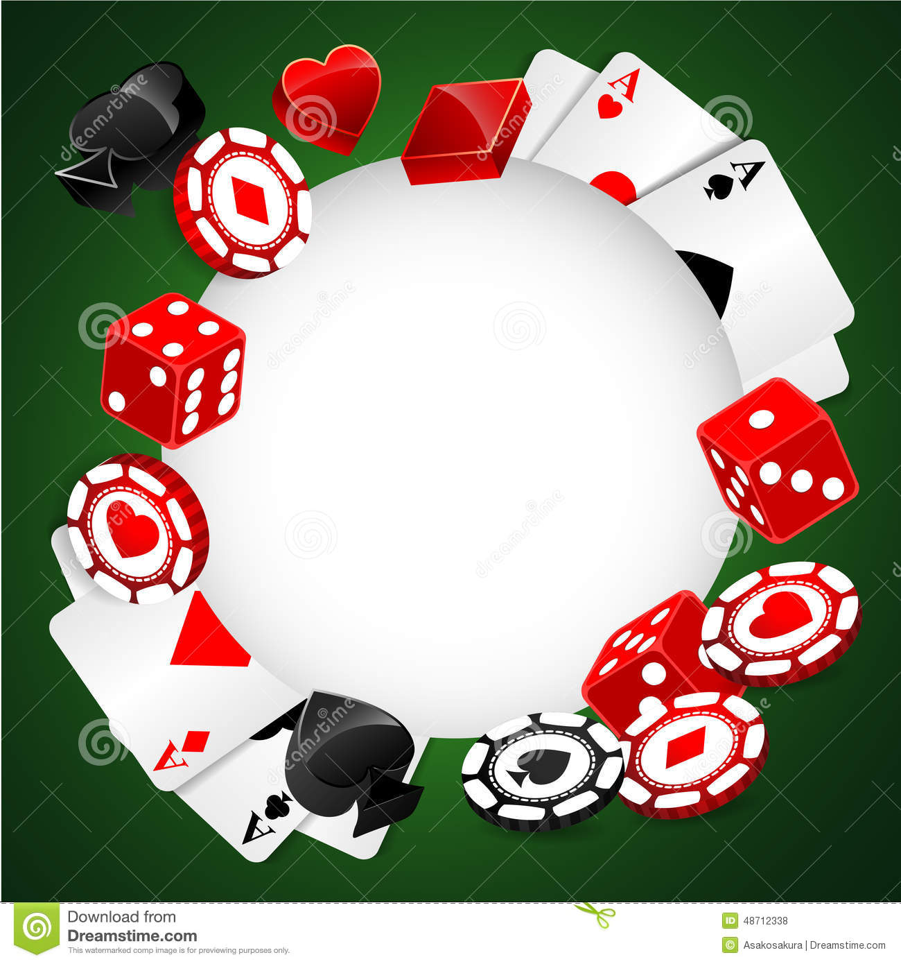 Casino gambling poker roulette