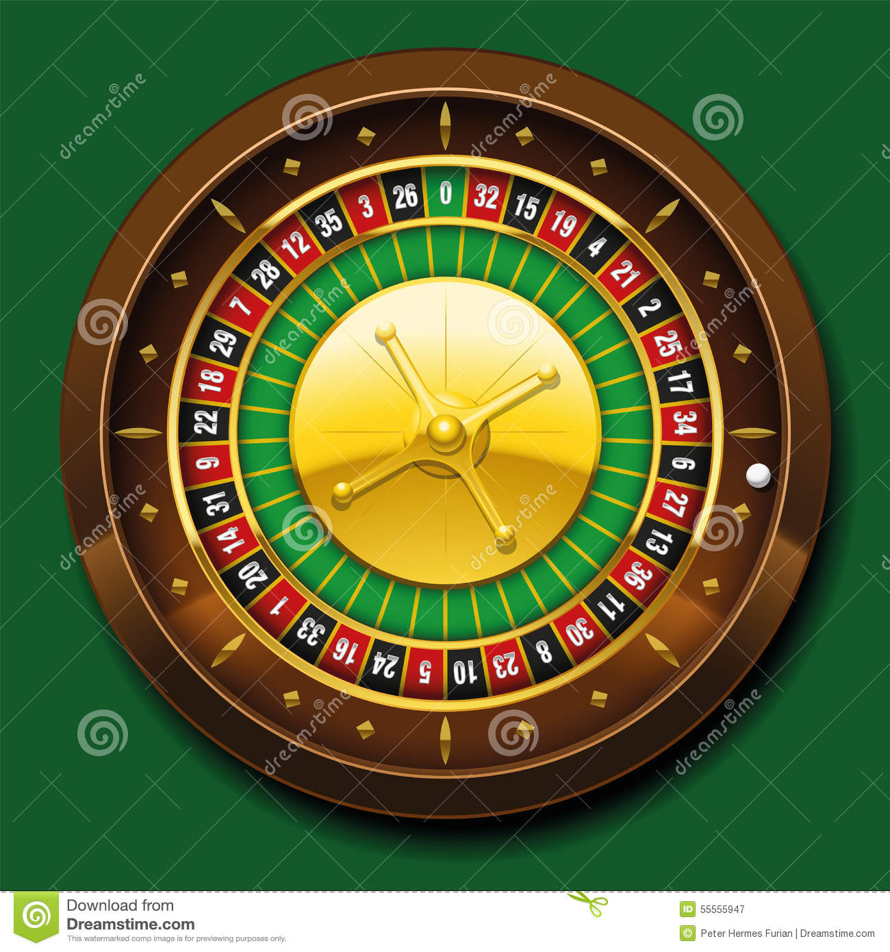 Roulette Wheel French Number Sequence