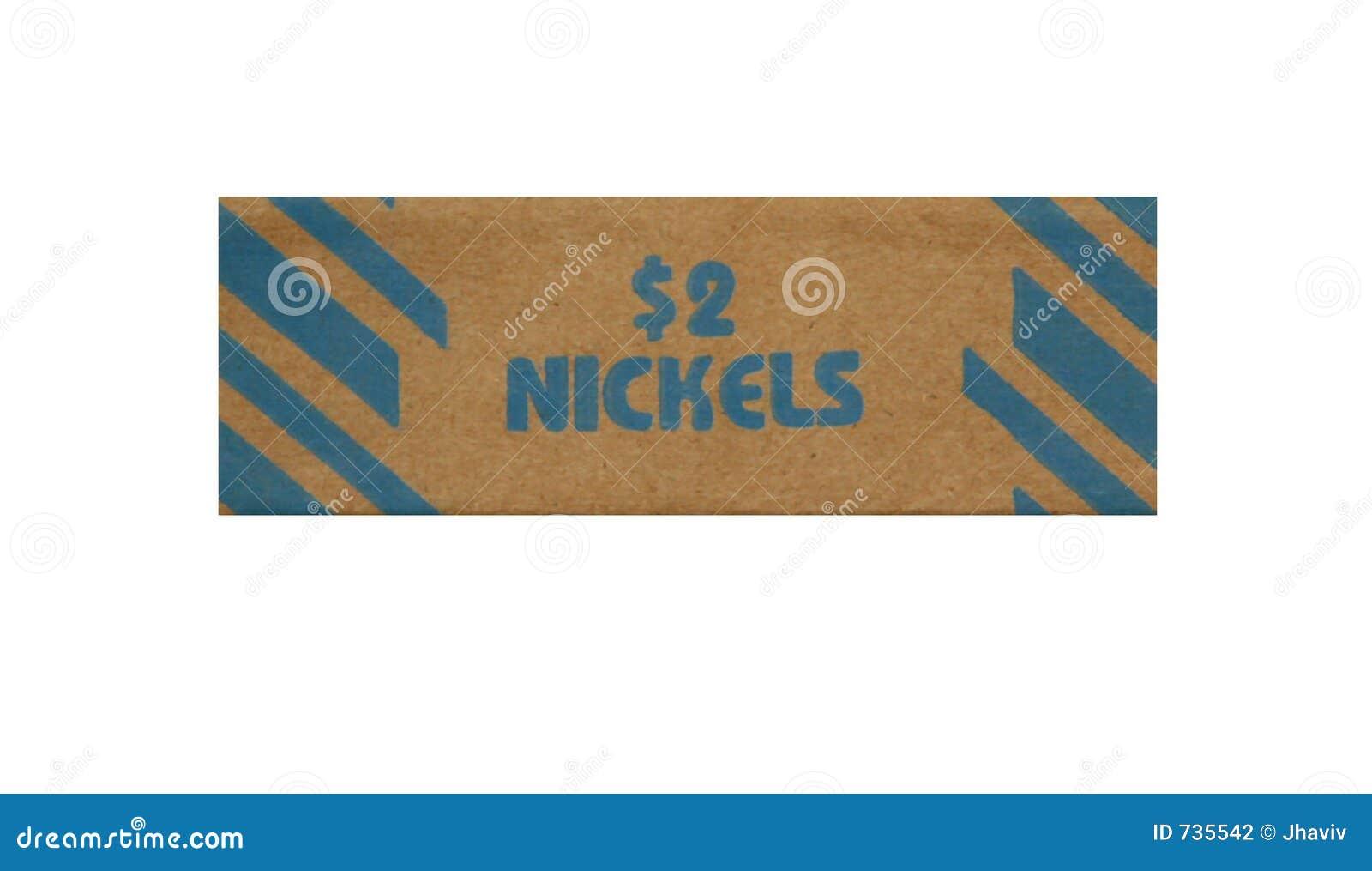 Roulis pour empiler des nickels