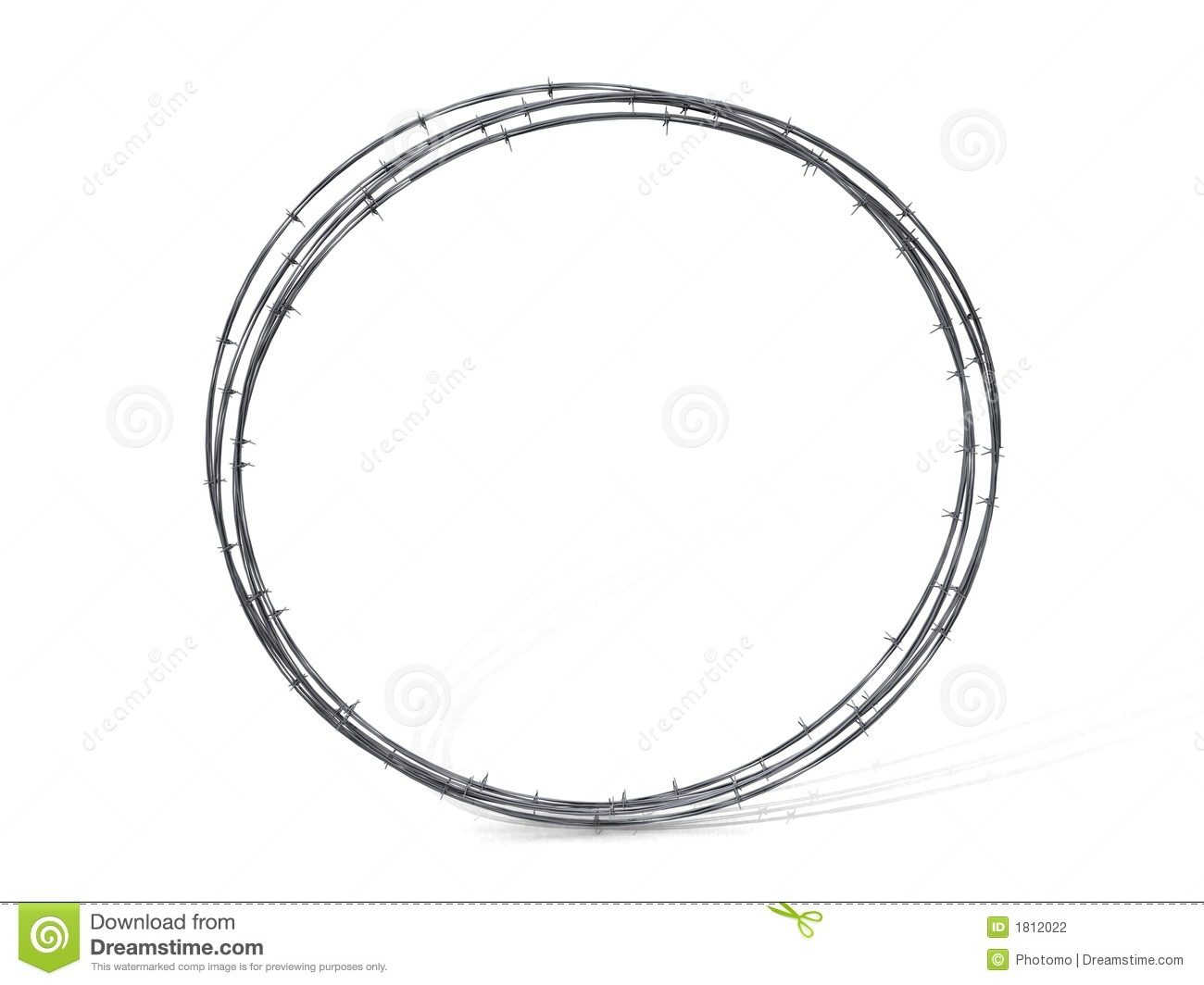 Barbed Wire Circle Clipart Round-barbwire-1812022.jpg