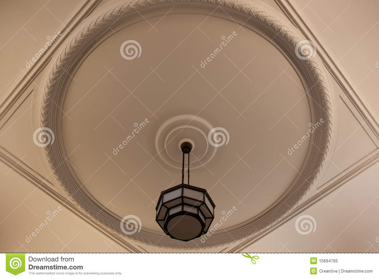 round ceiling royalty free stock photo image 15694765