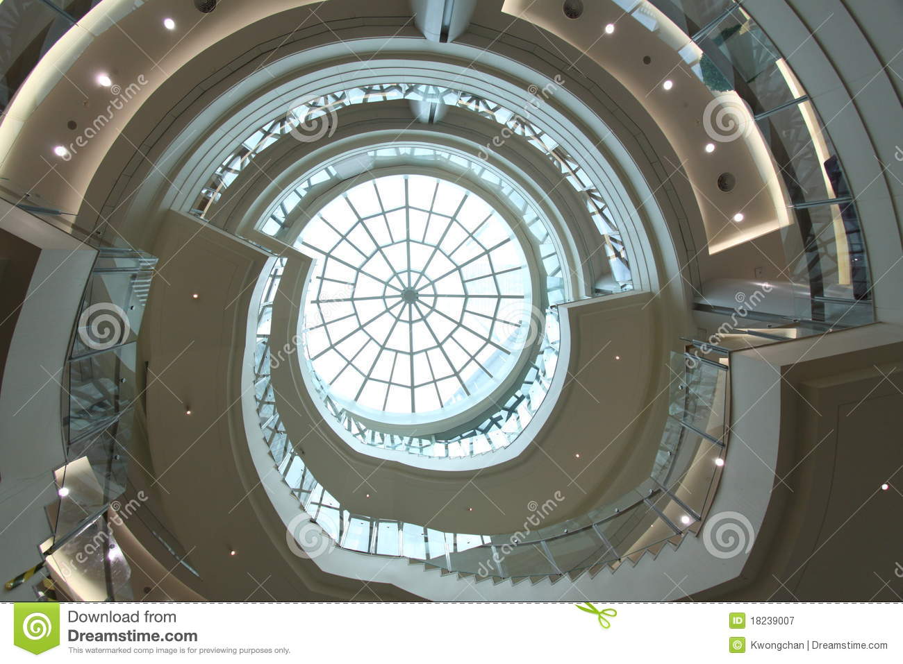 round ceiling royalty free stock photography image 18239007