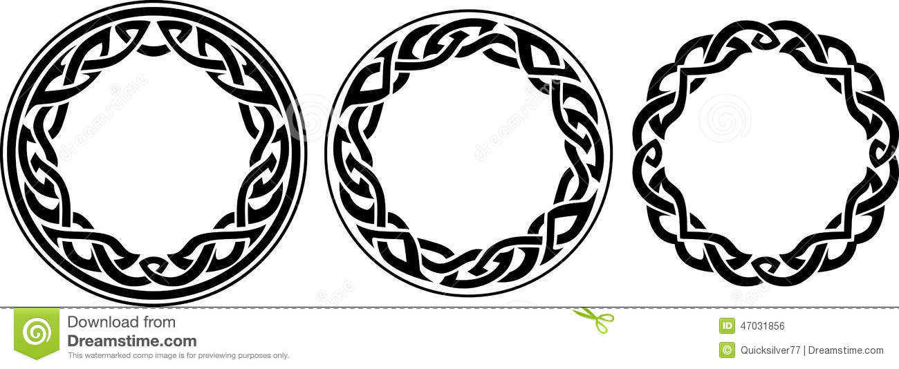 Vine Tattoo Design Celtic
