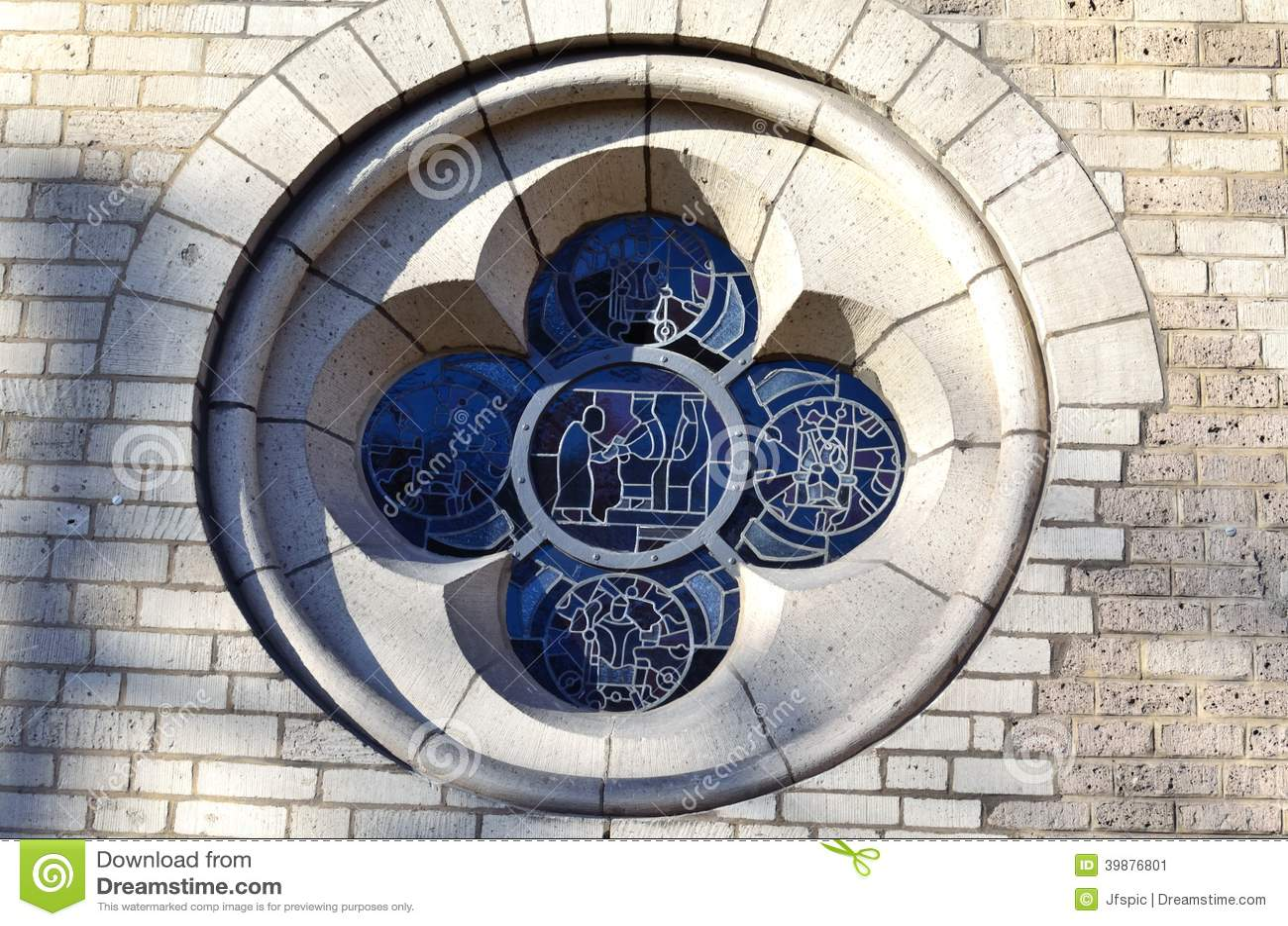 Church Glass Windows Structure