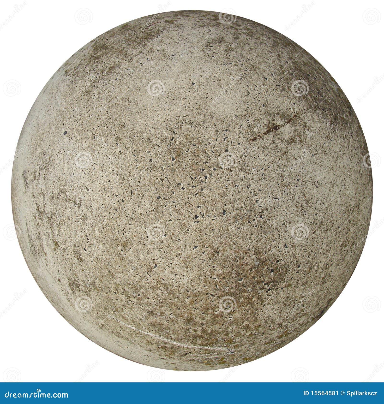 Round Concrete Stone Ball Stock Image Image 15564581
