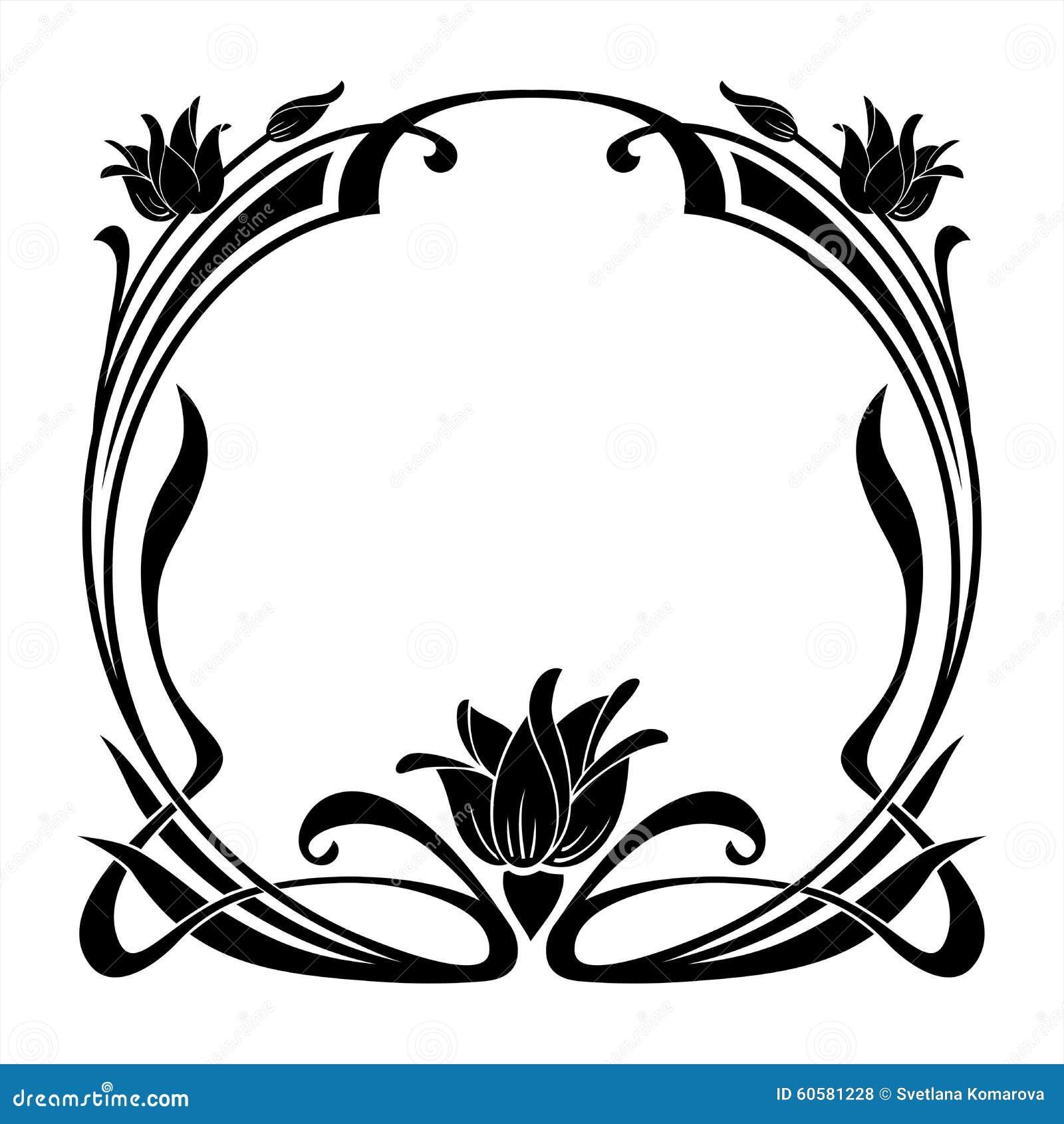 Art Nouveau Stencils For Painting