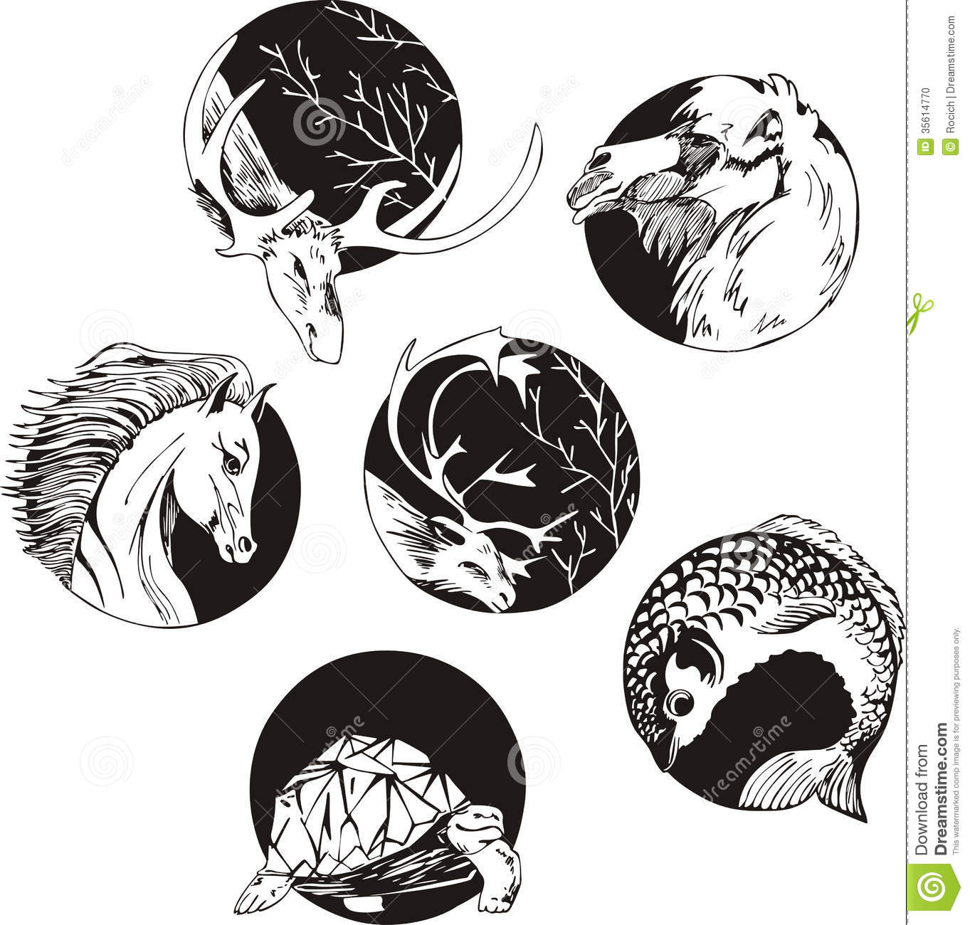 Geisha N Dragon Tattoo 115616355 further Baby Horse Coloring besides Stock Photo Round Designs Animals Set Black White Vector Illustrations Image35614770 besides Ram Mascot Clipart likewise Cartoon Smiling Star 11772516. on black ram