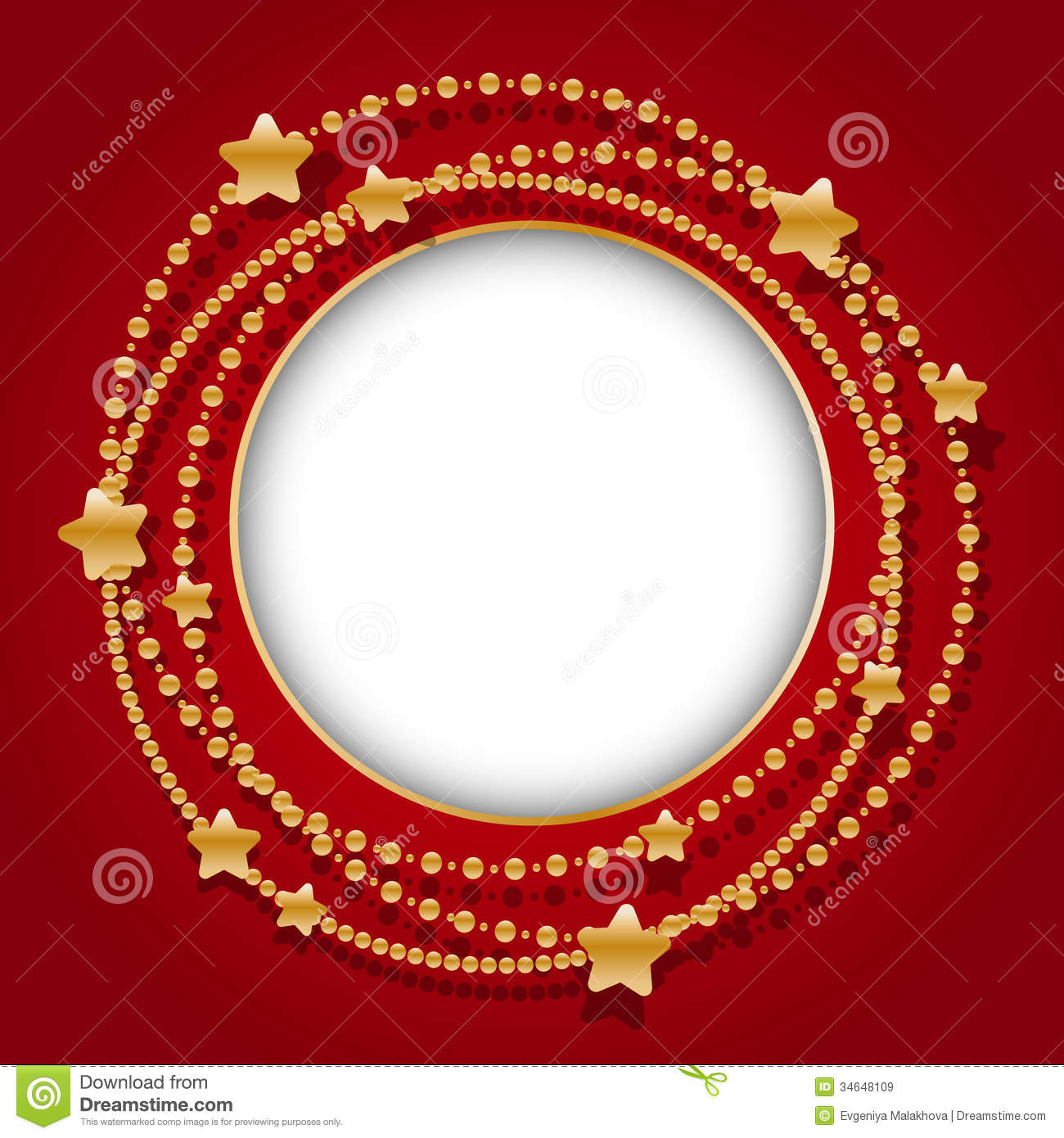 Round Frame Royalty Free Stock Images Image 34648109