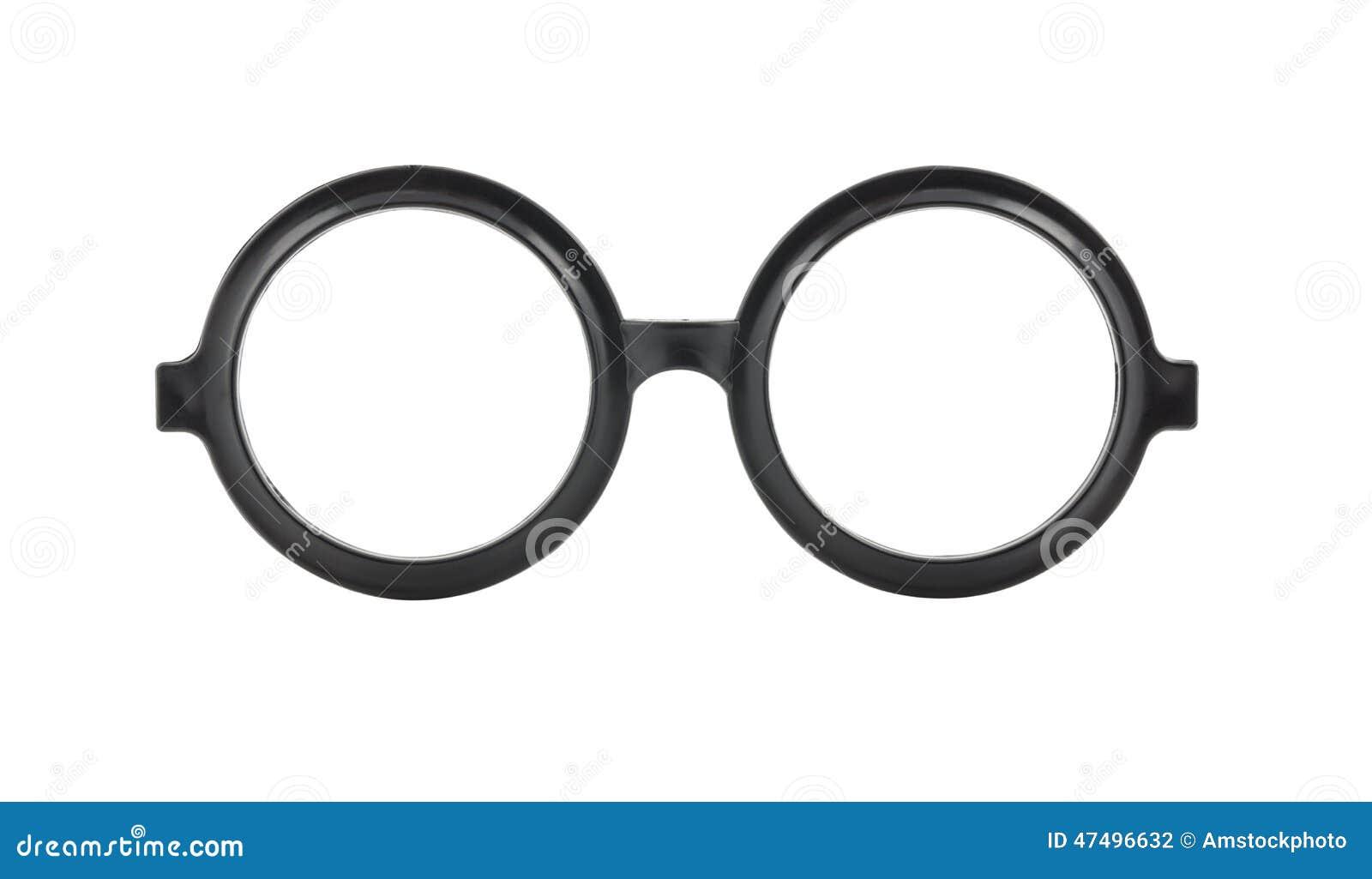 Round Glasses Frame Black : Round Frame Glasses Isolated On White Background Stock ...