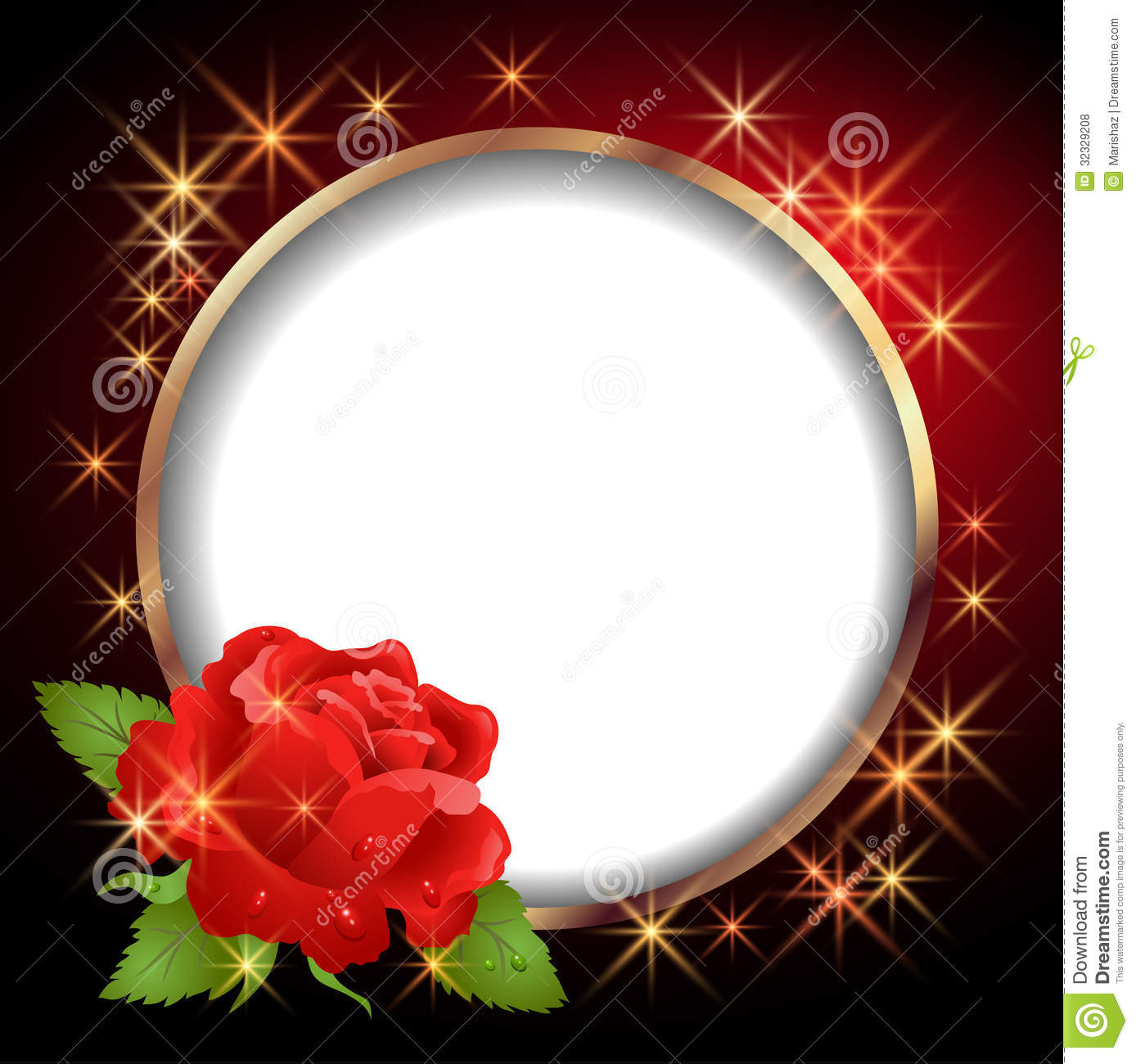 rose flower photo frames download