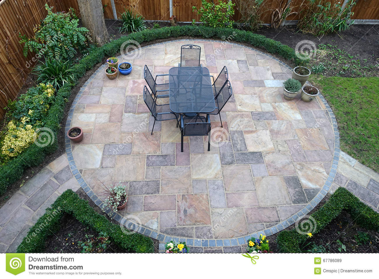 Round Patio wonderful round patio brick circular and ideas