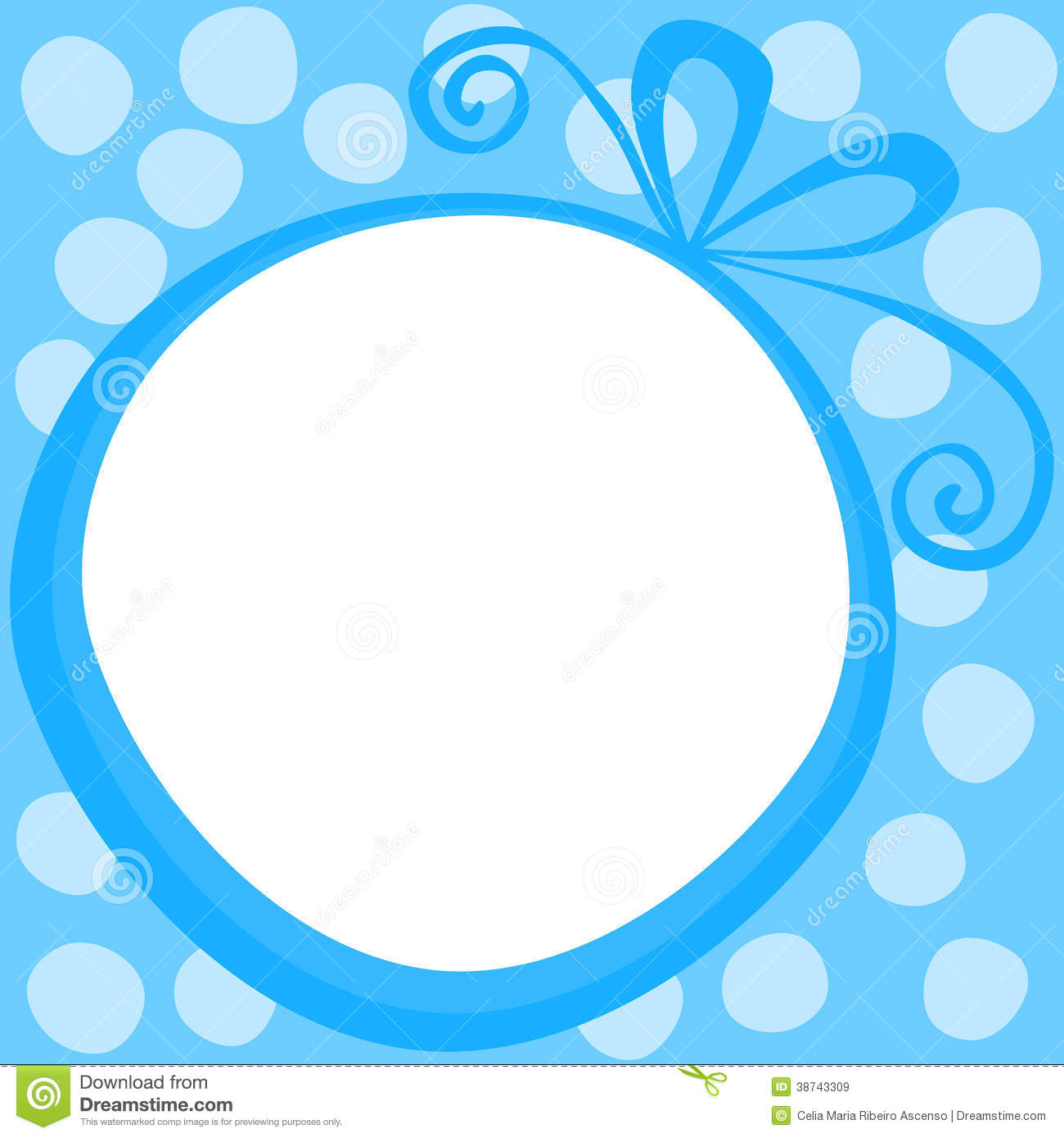 Red gift bows border with clipping path for easy background removing - Round Gift Frame Border Royalty Free Stock Images