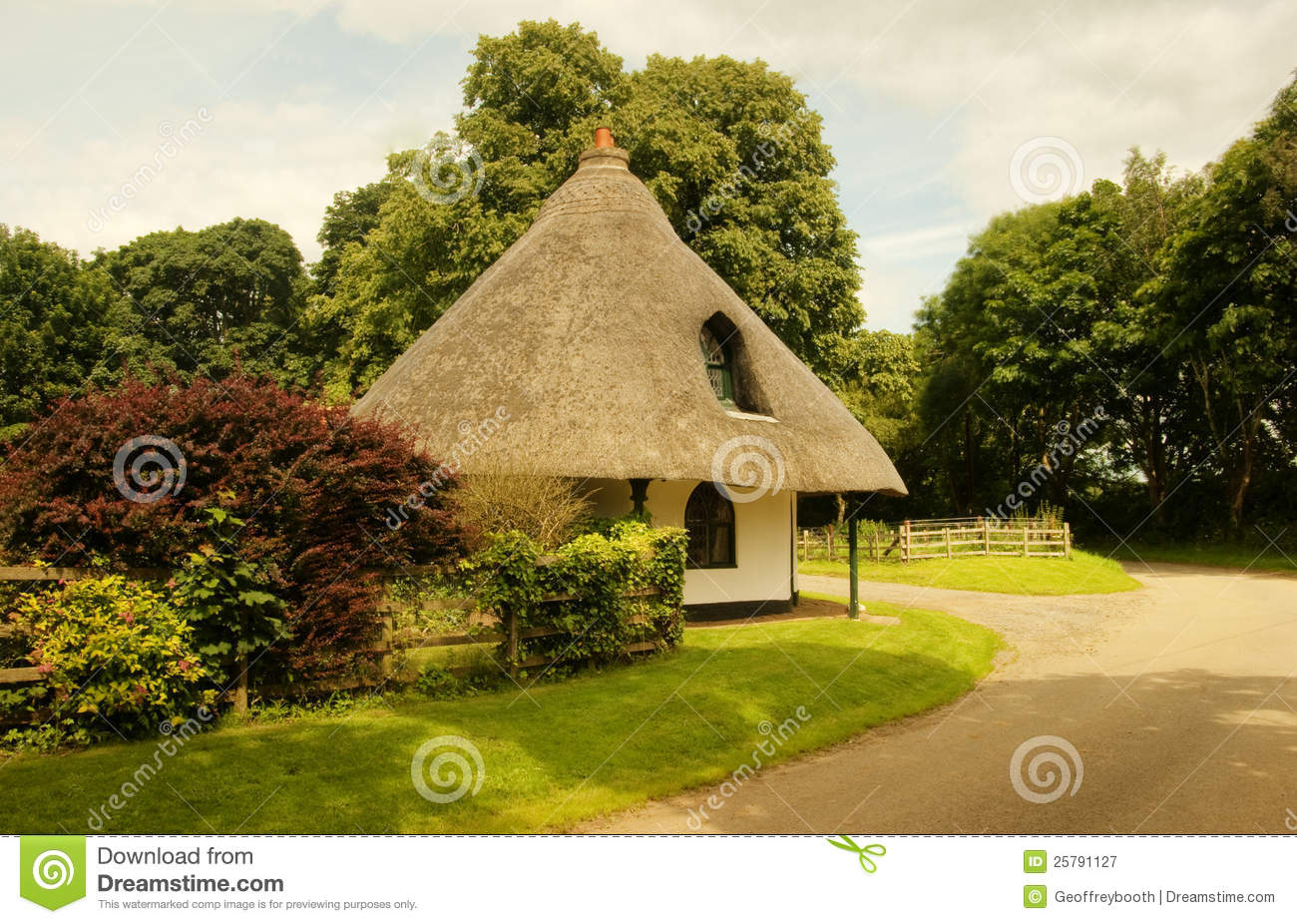 Round House Langton By Spilsby Stock Image Image Of